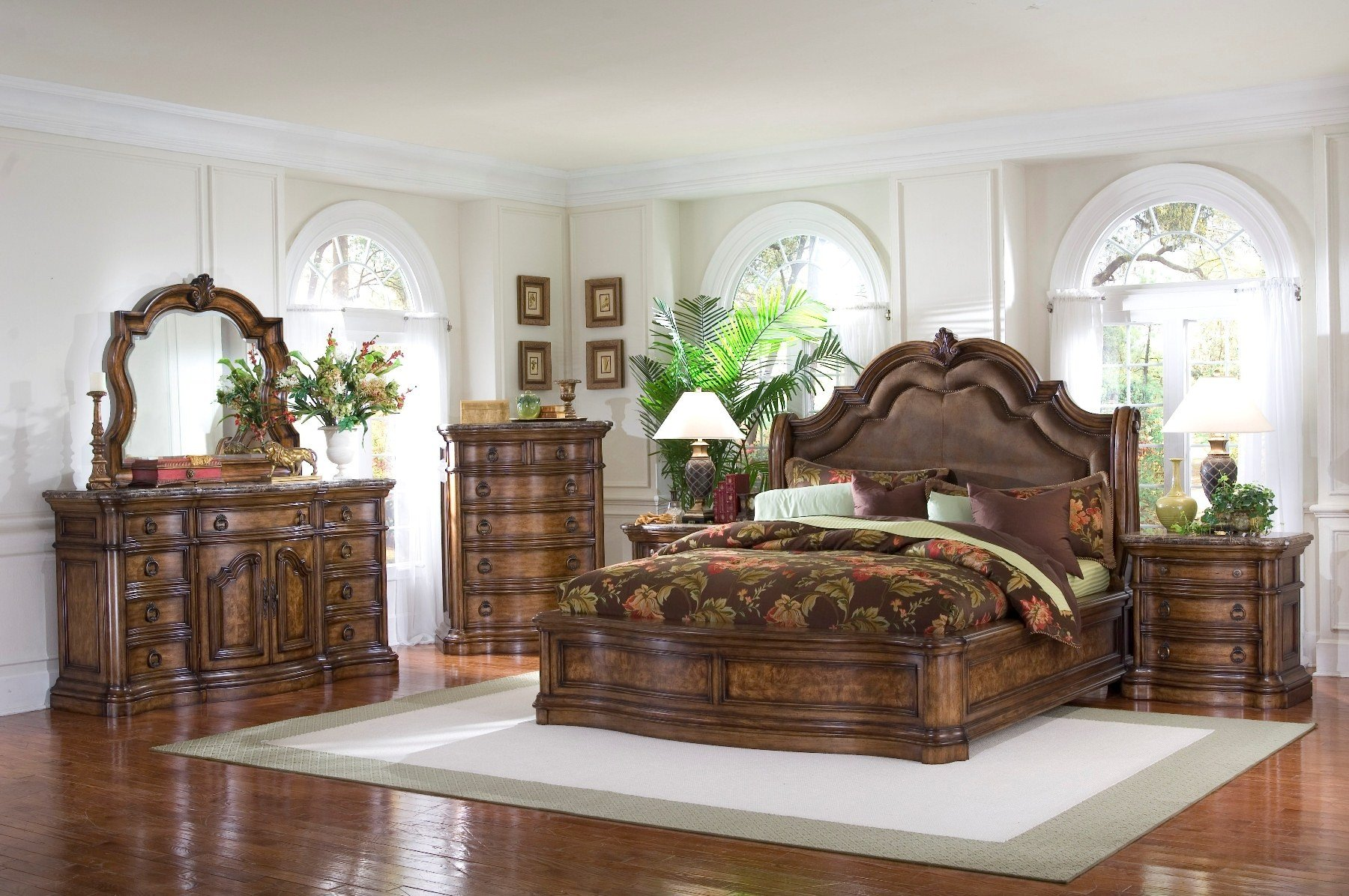 San Mateo Sleigh Bedroom Set Media Gallery