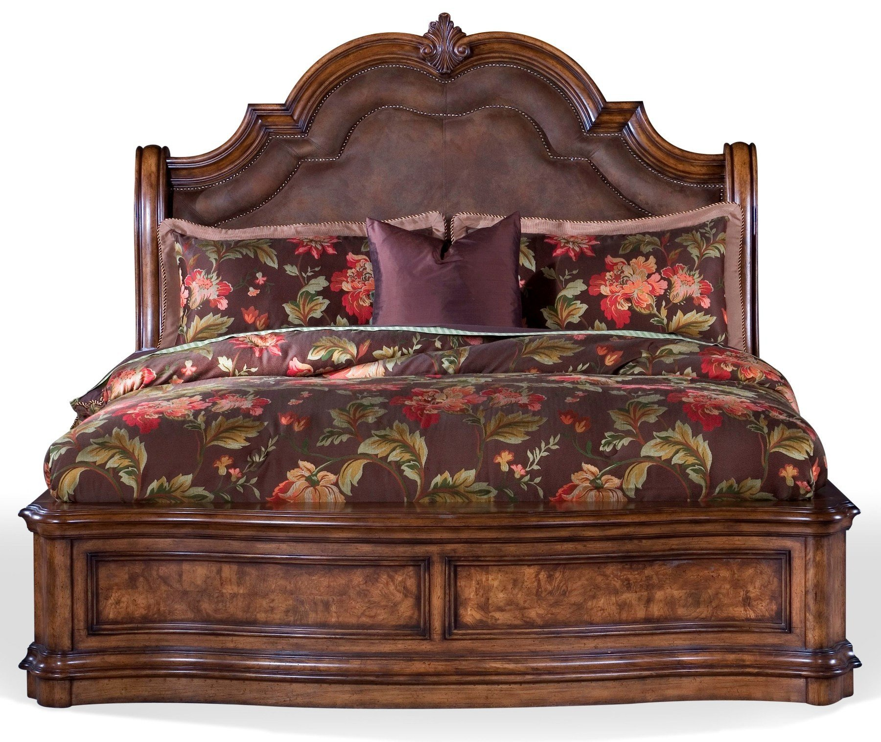 San Mateo Sleigh Bedroom Set Media Gallery 1