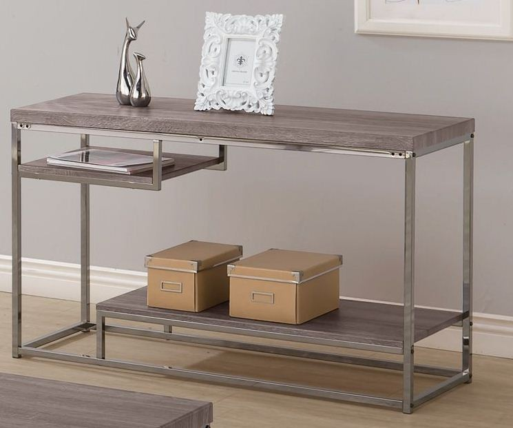 coaster 703729 weathered grey sofa table weathered collection 3 rh 1stopbedrooms com grey sofa coffee table dark grey sofa coffee table