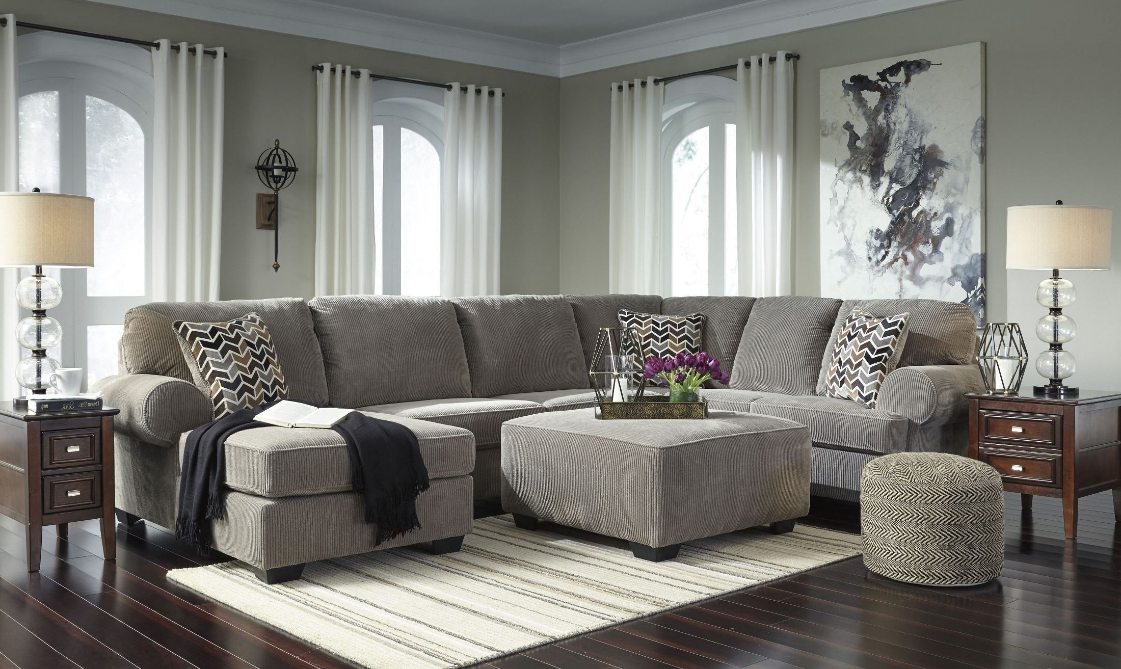 Jinllingsly Gray Laf Sectional 1stopbedrooms