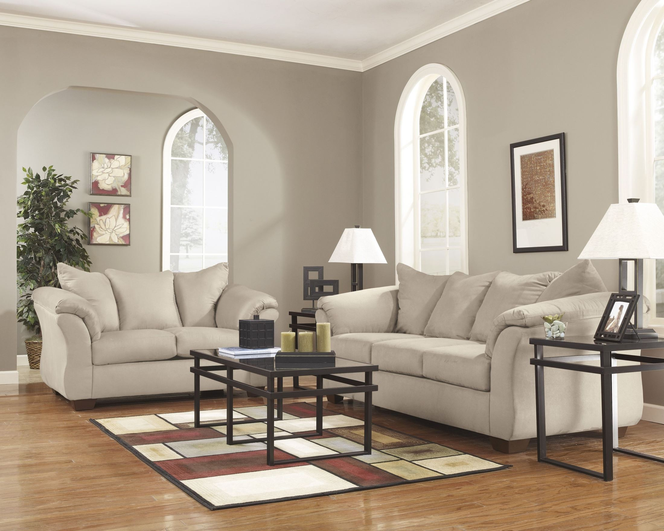 Darcy Stone Chaise Sectional 1stopbedrooms