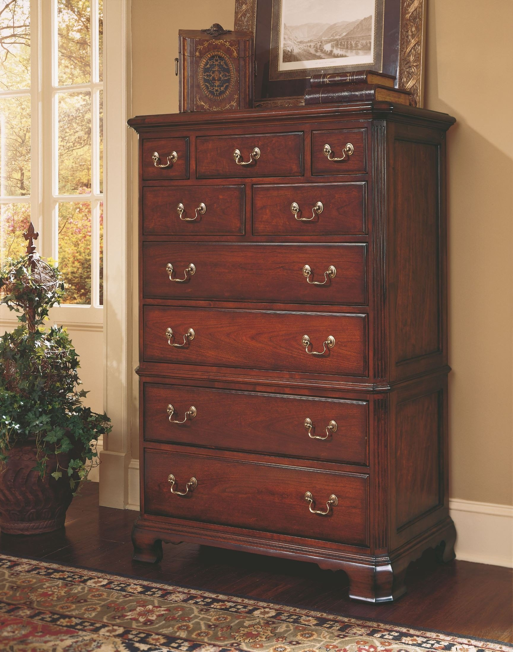 Cherry Grove Classic Antique Cherry Drawer Chest