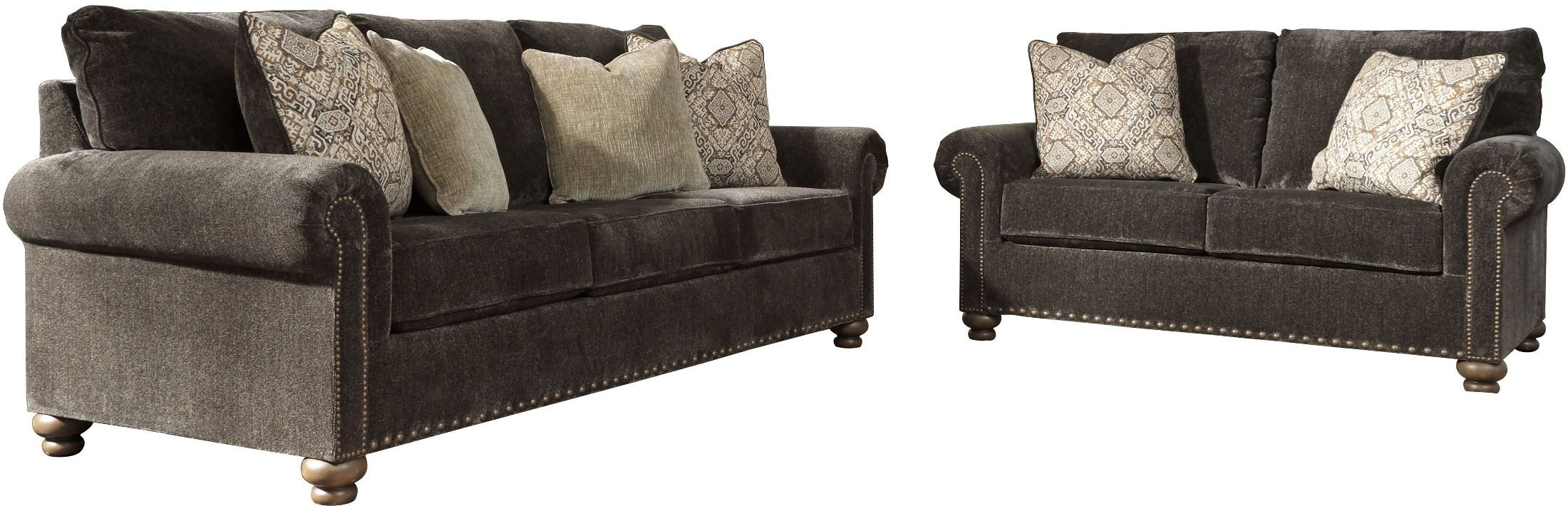 Signature Design by Ashley Stracelen Brown Queen Sofa Sleeper ...