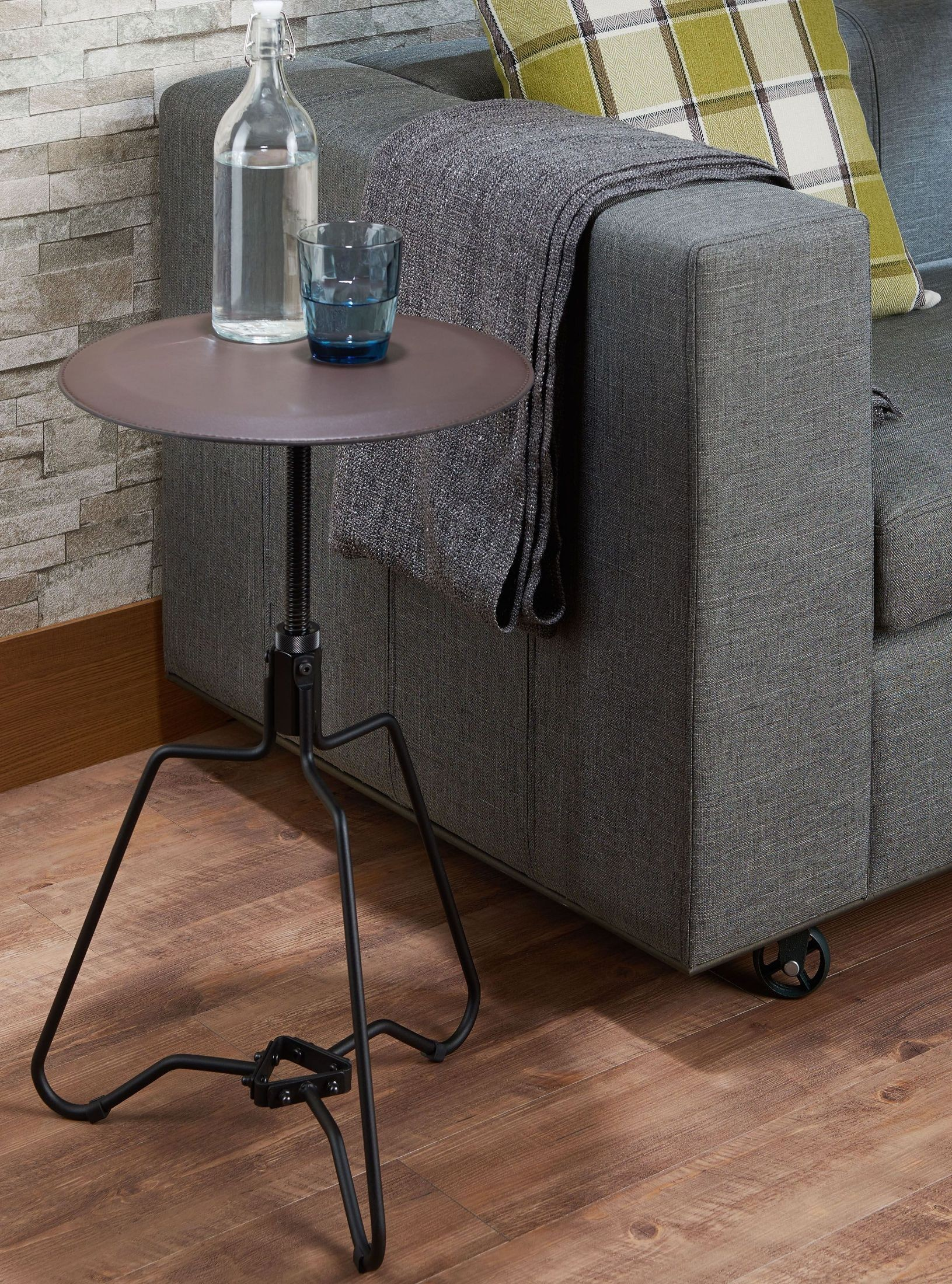 Picture of: Sada Adjustable Height End Table 1stopbedrooms
