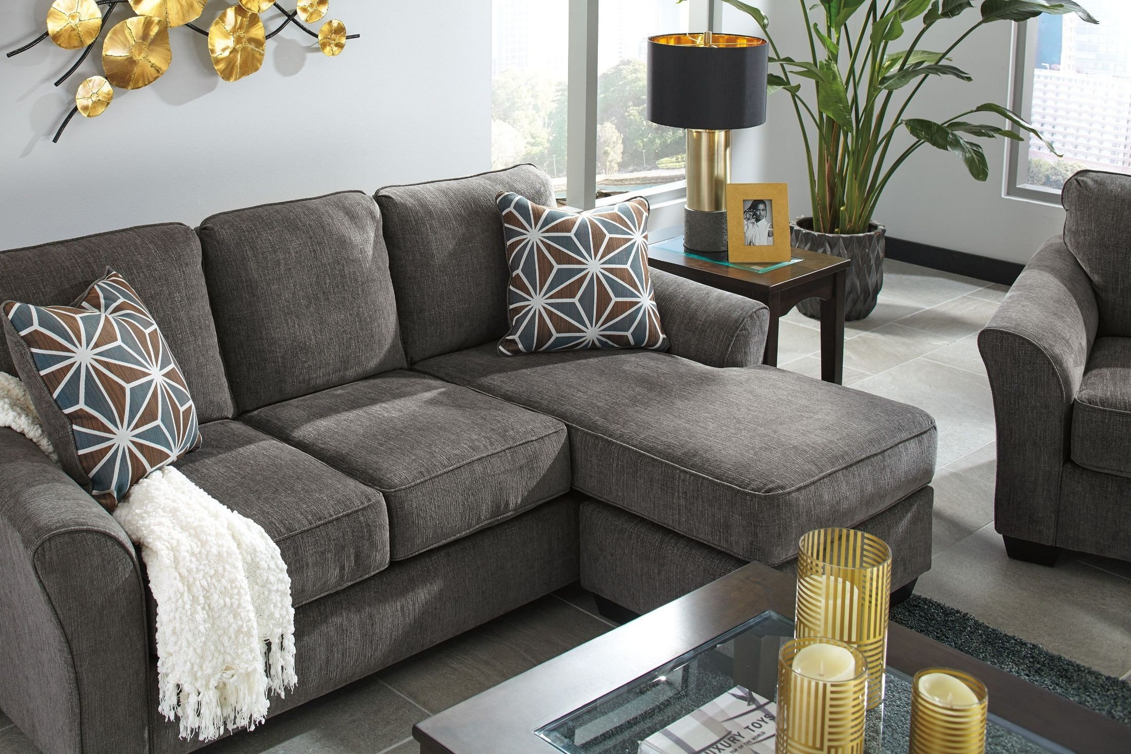 Tremendous Brise Slate Sofa Chaise Caraccident5 Cool Chair Designs And Ideas Caraccident5Info