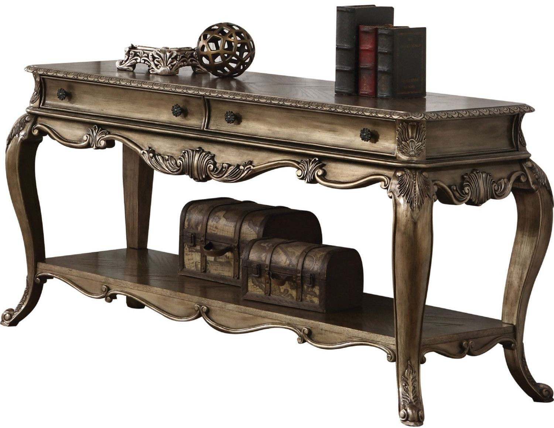 Picture of: Ragenardus Vintage Oak Sofa Table 1stopbedrooms