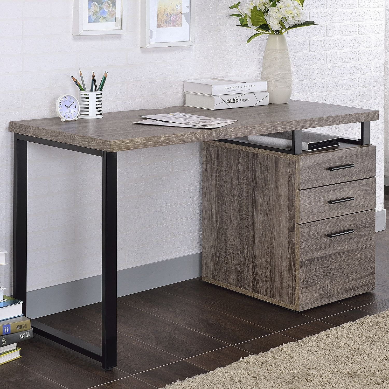 Coy Gray Oak Desk 1stopbedrooms