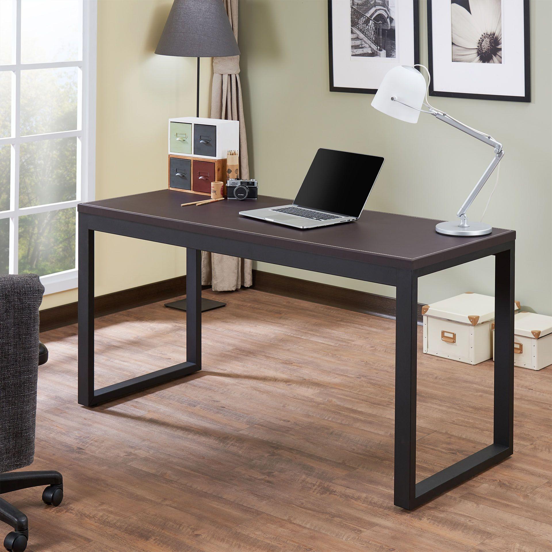 Sara I Espresso Sandy Black Desk 1stopbedrooms