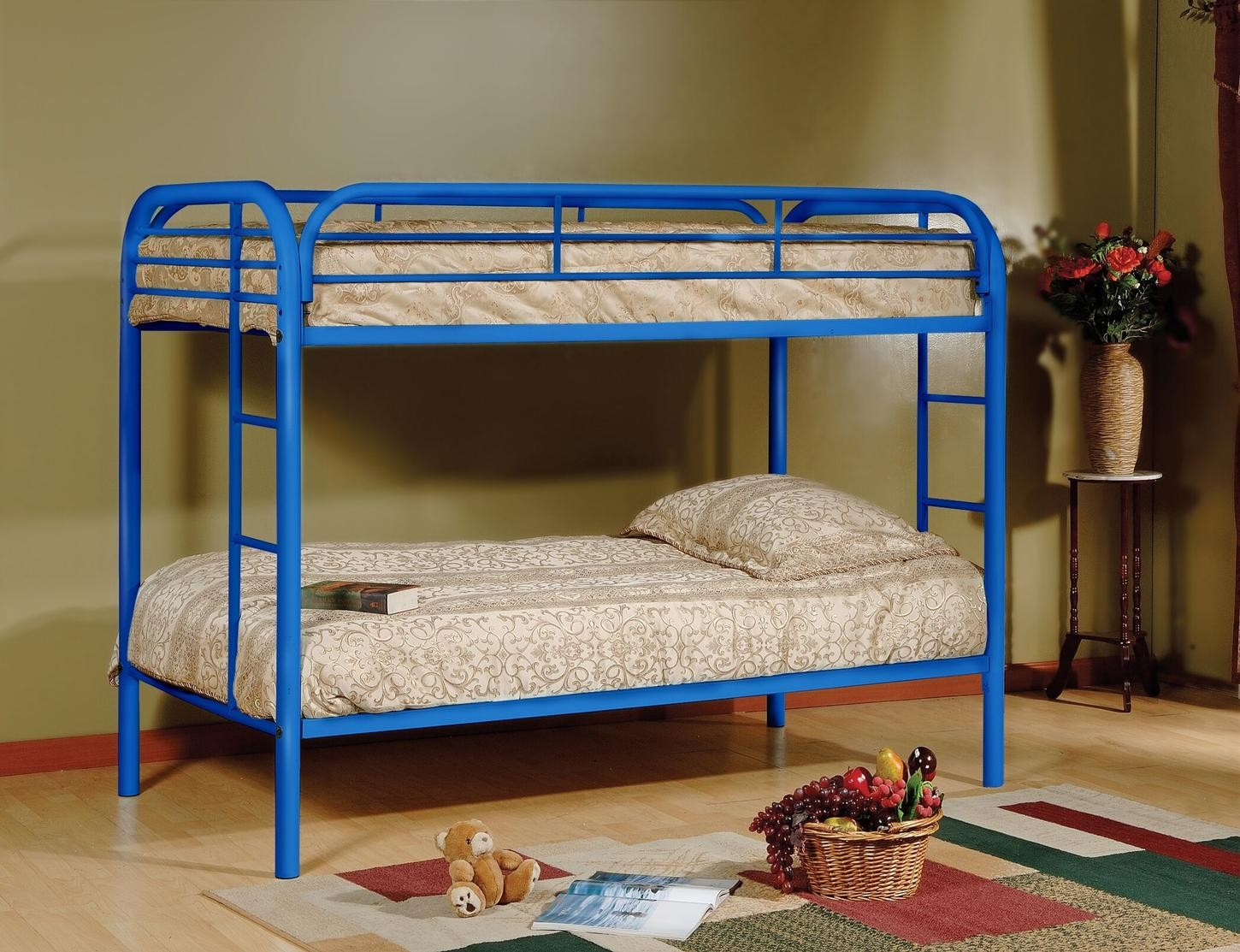 Picture of: Sade Twin Over Twin Bunk Bed 9501bu 1stopbedrooms