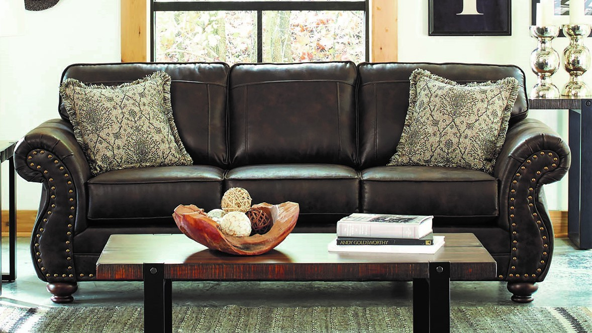 Coaster Furniture Graceville Dark Brown Sofa