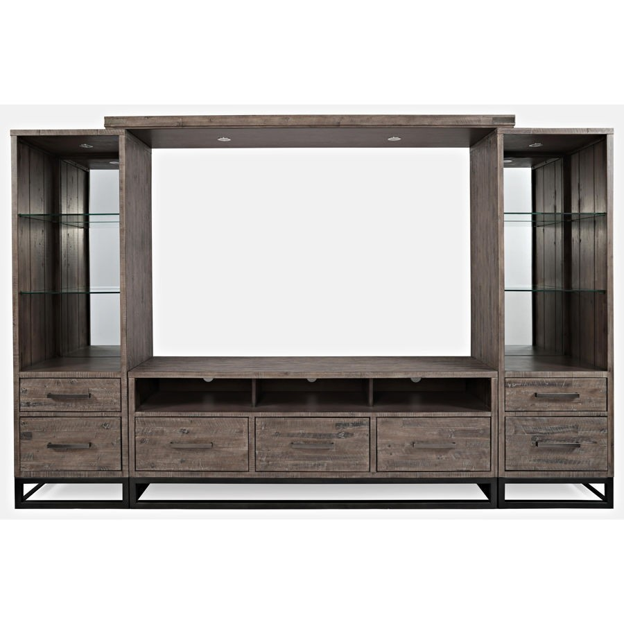 Jofran Furniture East Hampton Distressed Entertainment