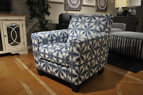 Kiessel Nuvella Flower Accent Chair 1450421 1stopbedrooms