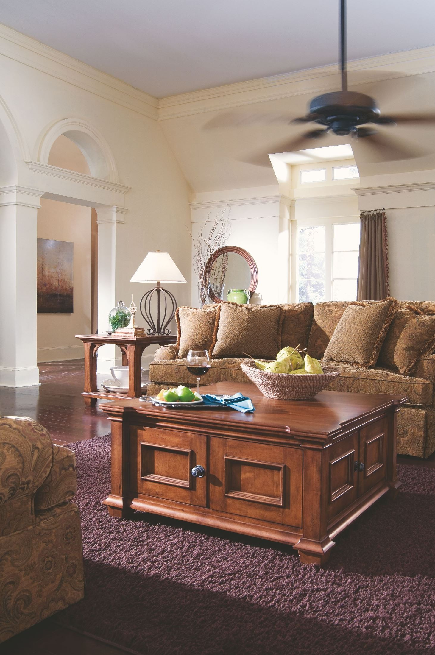 Tuscano Square Cocktail Table 1stopbedrooms