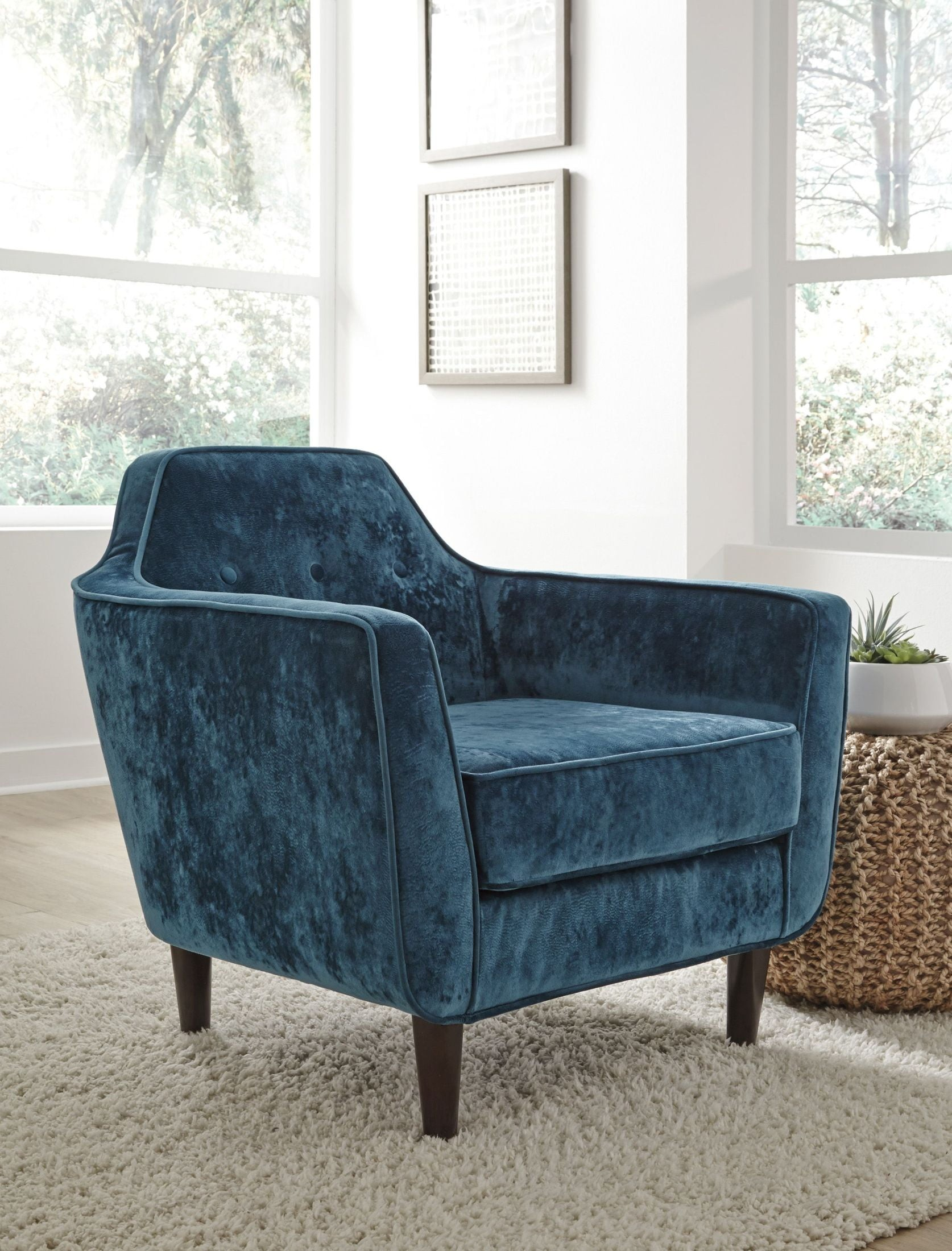 Oxette Green Accent Chair Media Gallery Oxette Green Accent Chair Media  Gallery 1