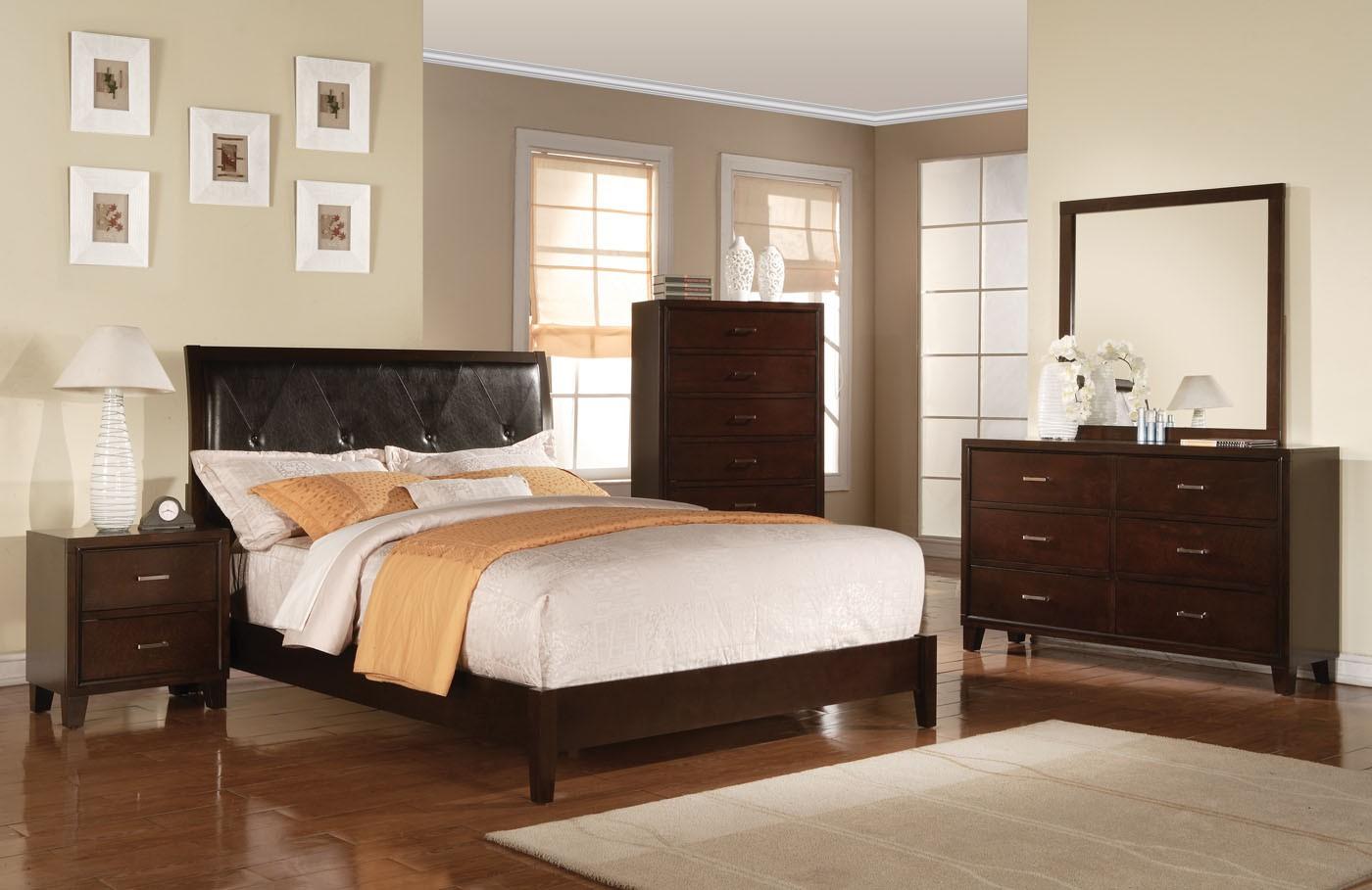 Acme Tyler Platform Bedroom Set In Espresso 1stopbedrooms