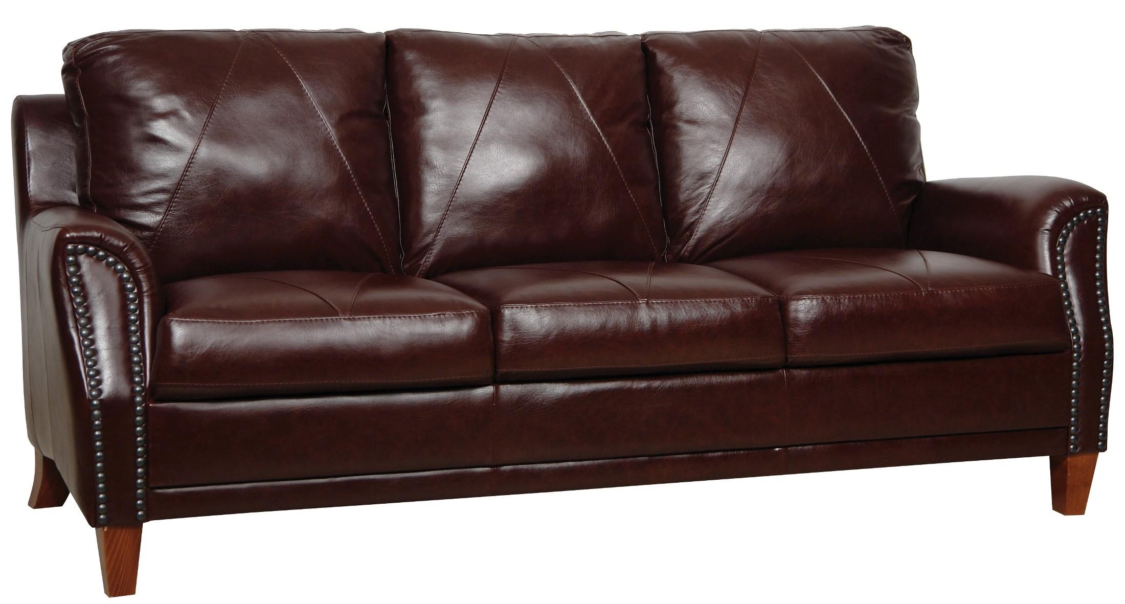 Austin Italian Leather Sofa