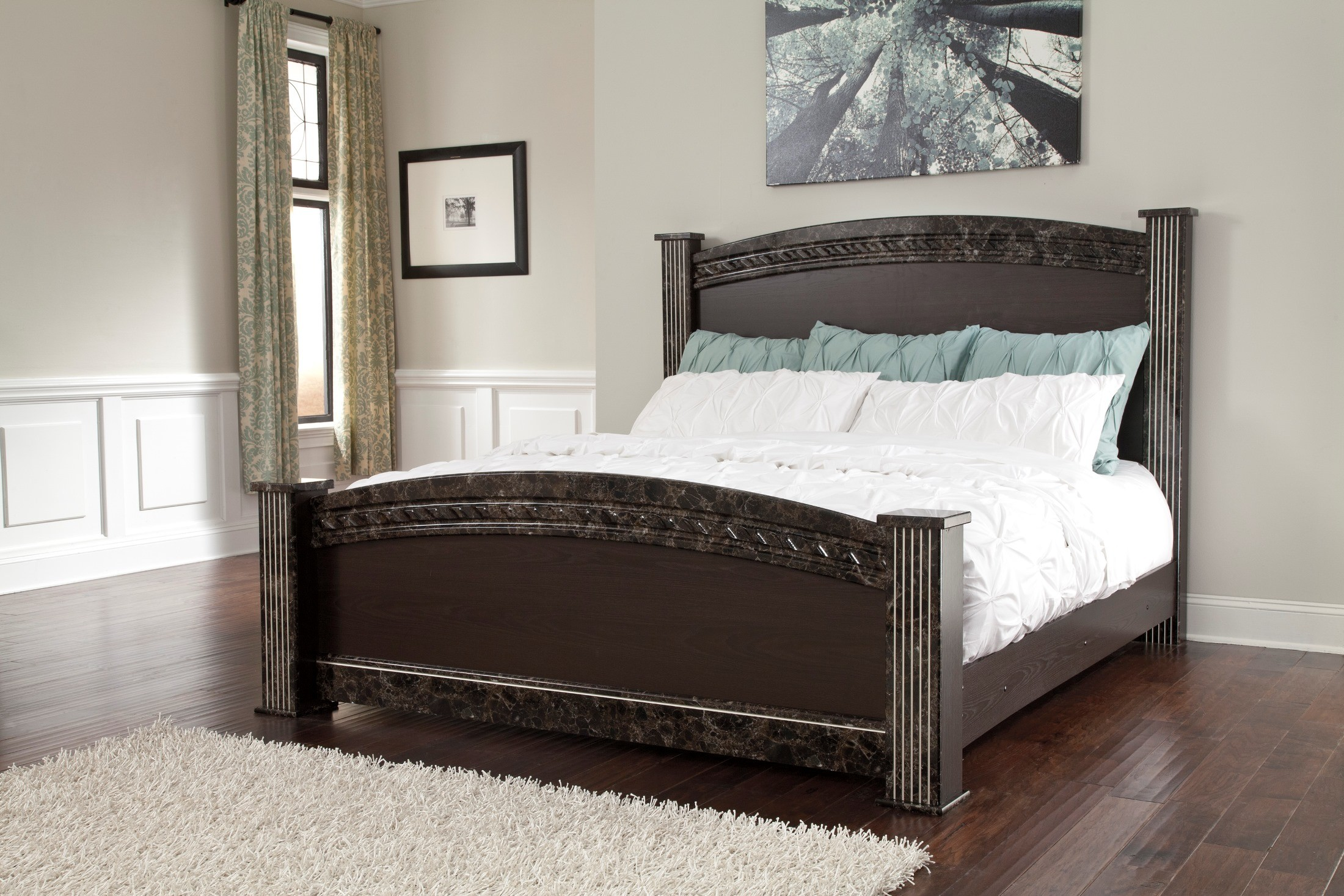 Vachel poster bedroom set 1stopbedrooms - Bedroom furniture sets buy now pay later ...