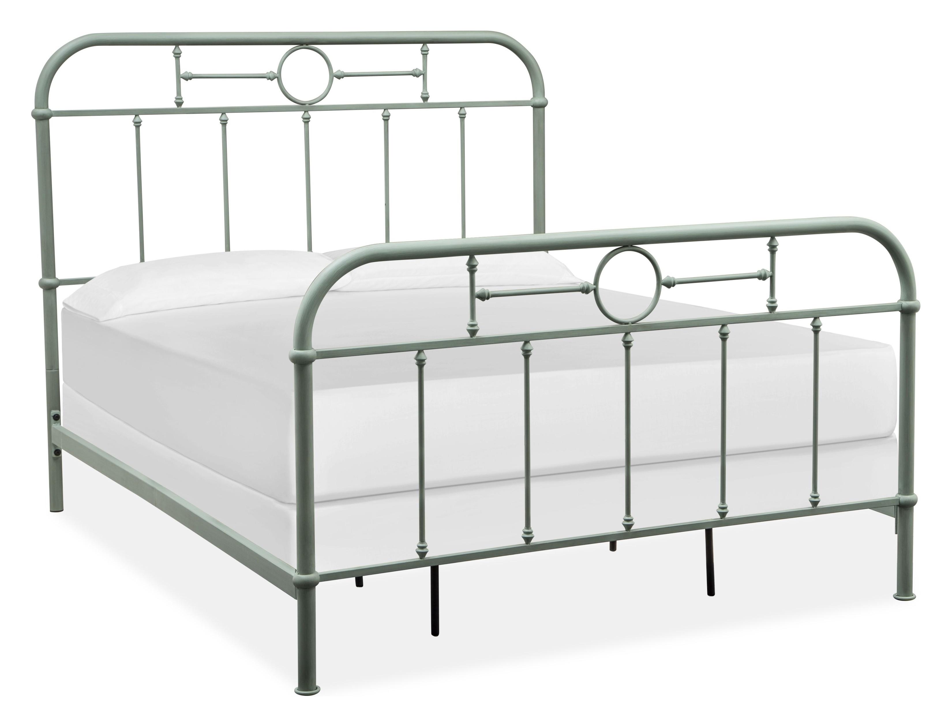 Carlisle Green Queen Metal Bed 1stopbedrooms