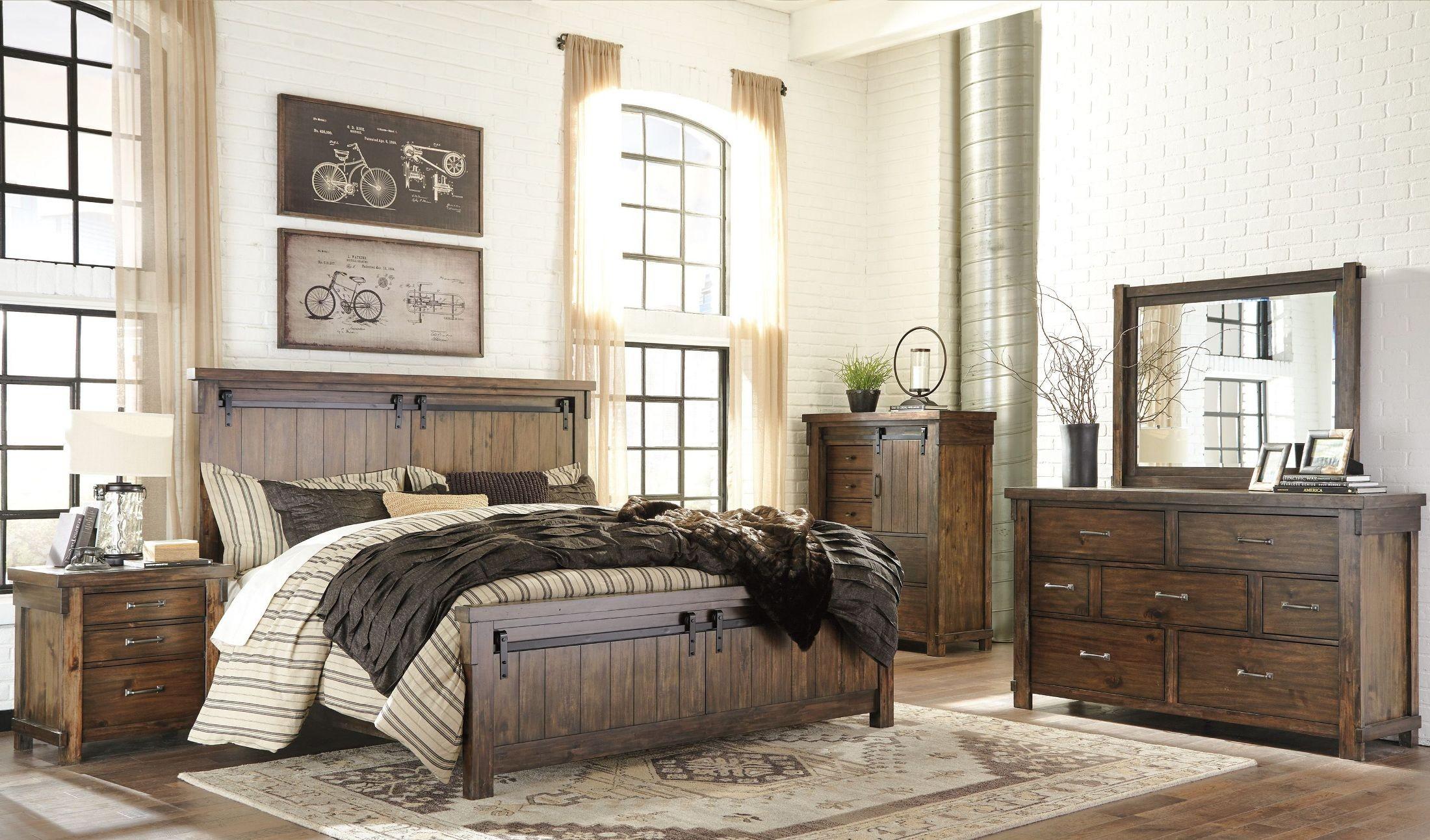 Lakeleigh Brown Panel Bedroom Set Media Gallery 3