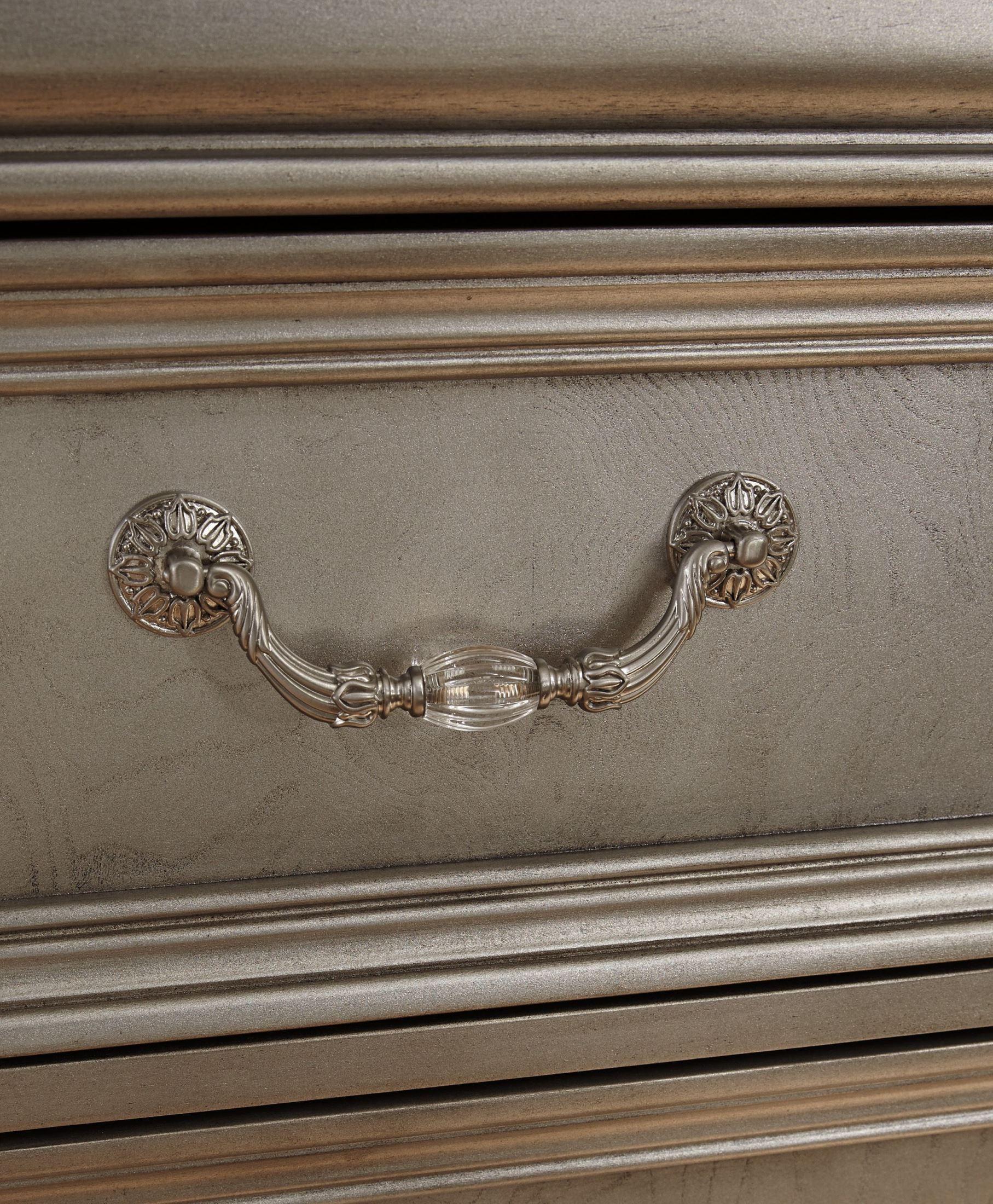 Birlanny Silver Upholstered Panel Bedroom Set Media Gallery 11