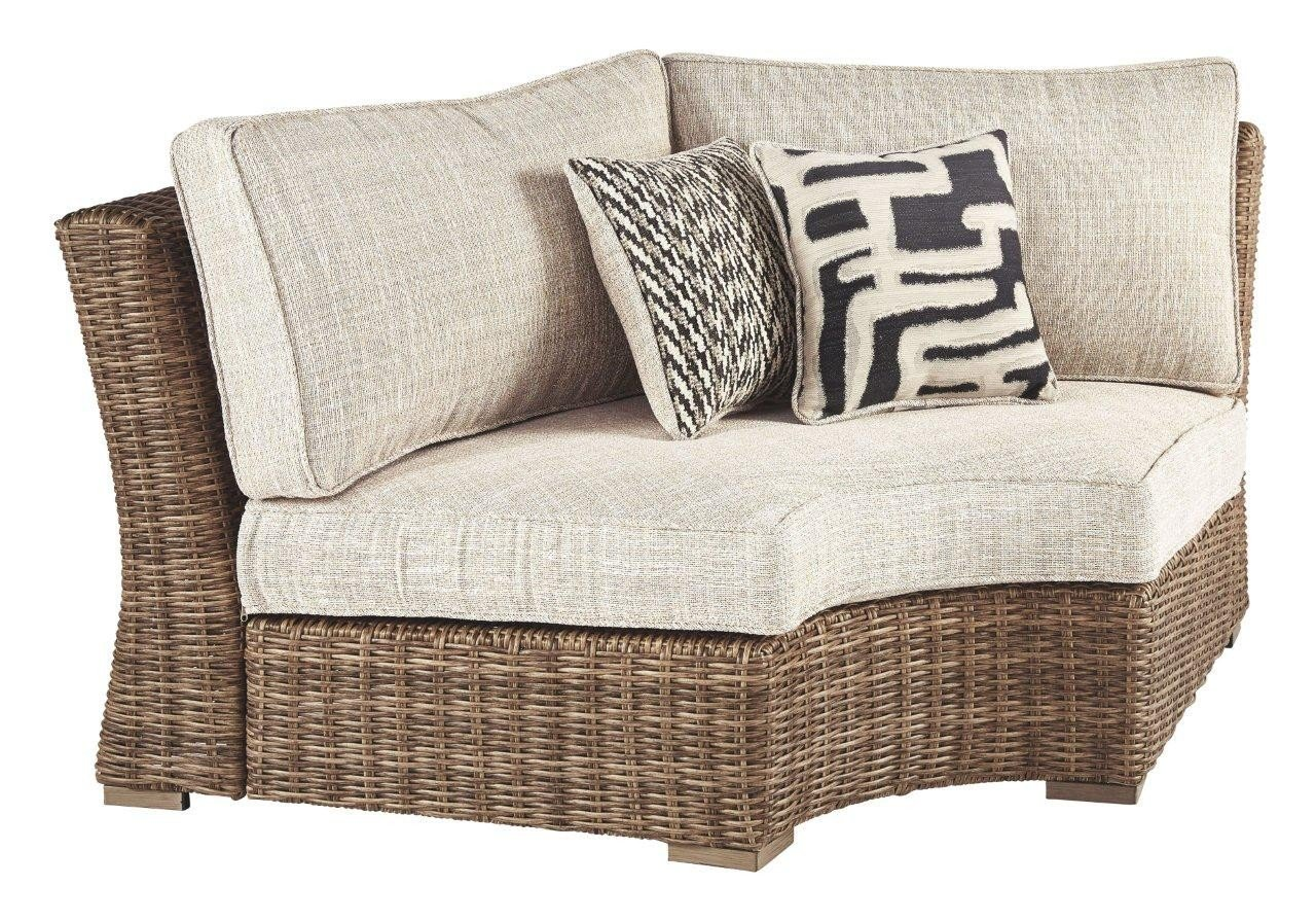 Beachcroft Beige Back Cushion PA791-003 - 1StopBedrooms. on Beachcroft Beige Outdoor Living Room Set id=17311