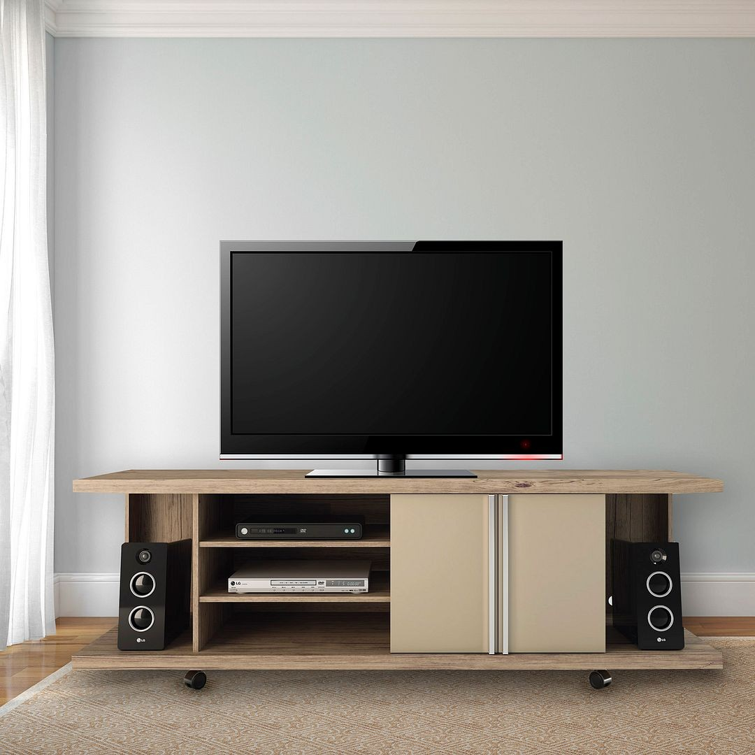 Carnegie TV Stand And Park 1.8 Floating Wall TV Panel With