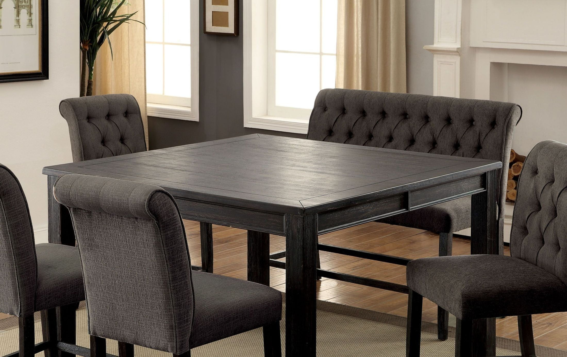 Cheap Black Counter Height Dining Sets