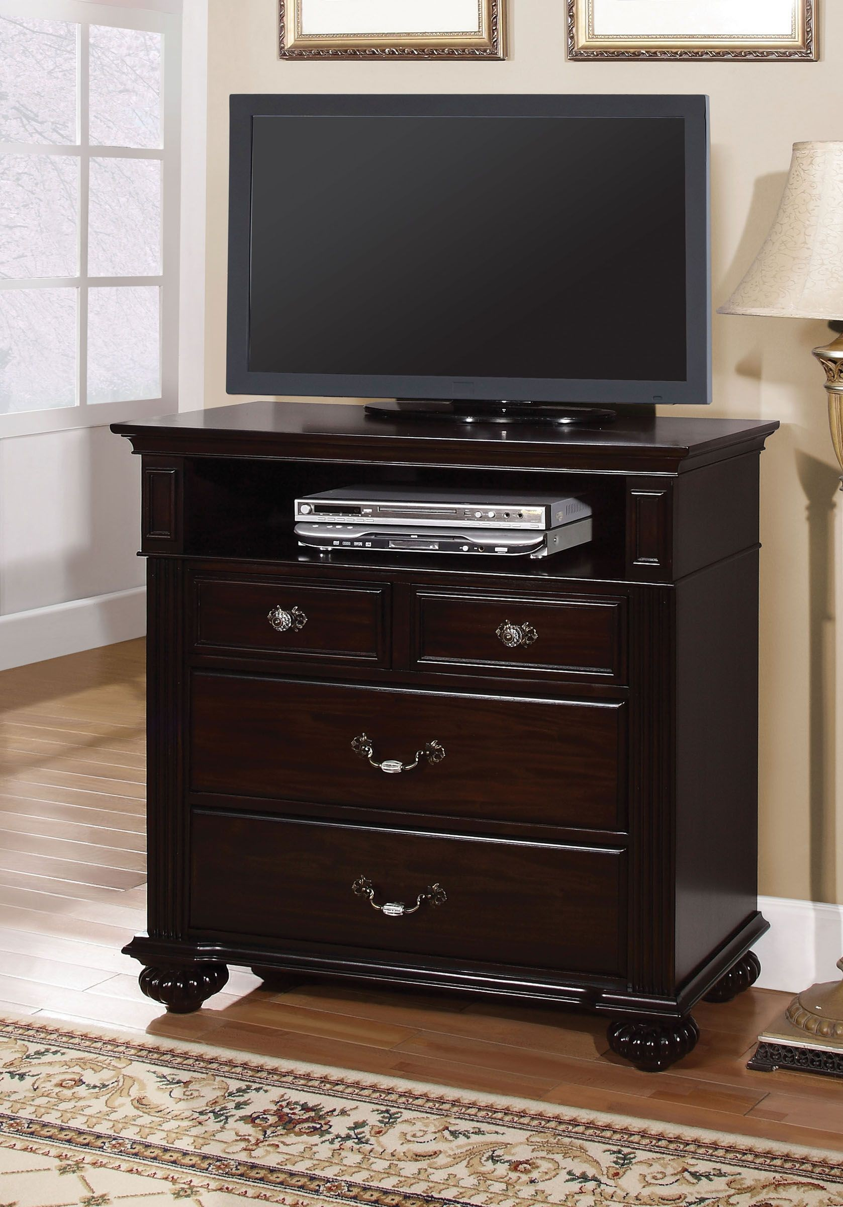 Syracuse dark walnut poster bedroom set 1stopbedrooms - Bedroom furniture sets buy now pay later ...