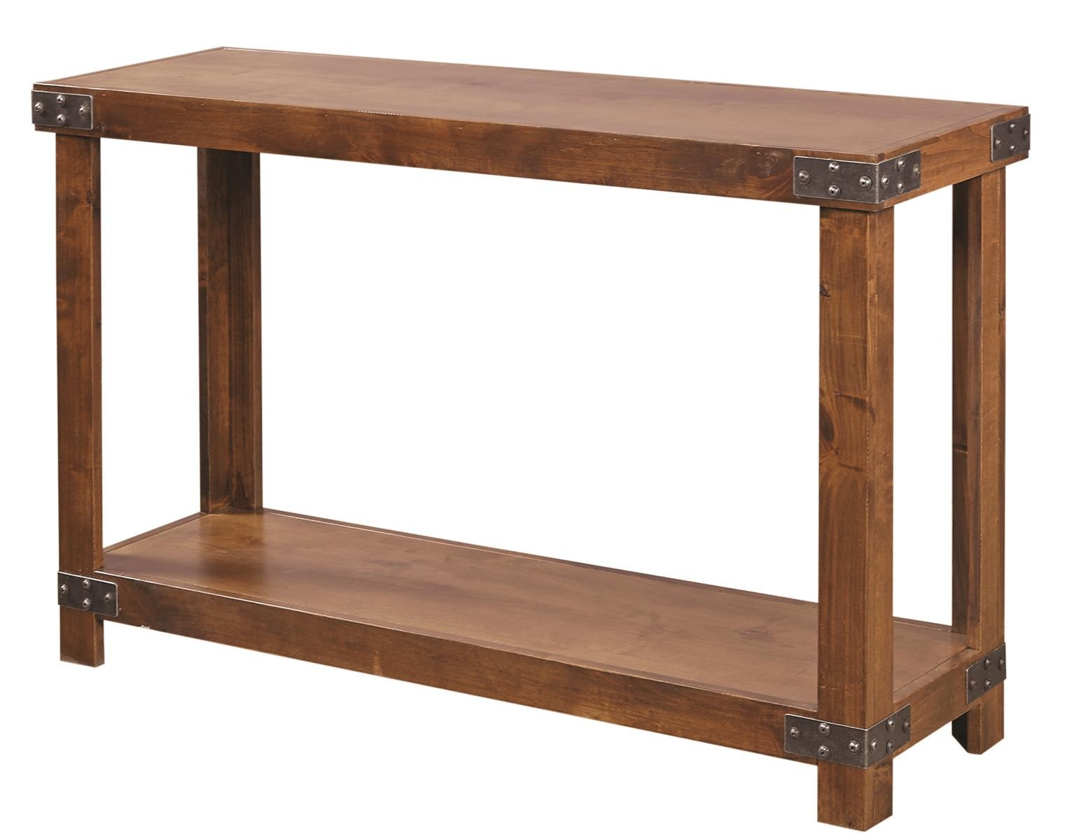 Aspenhome Industrial Sofa Table In Fruitwood Dn915 Frt