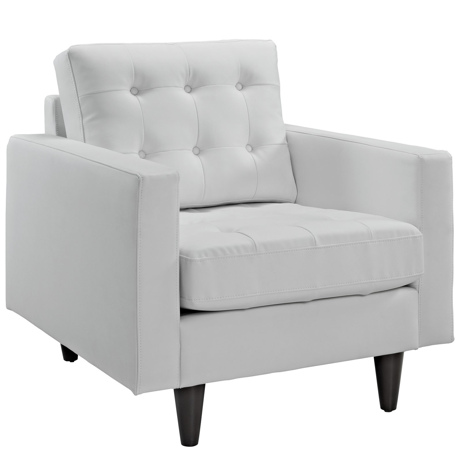 Arm Chairs Set Of 3 Eei 1312 Whi