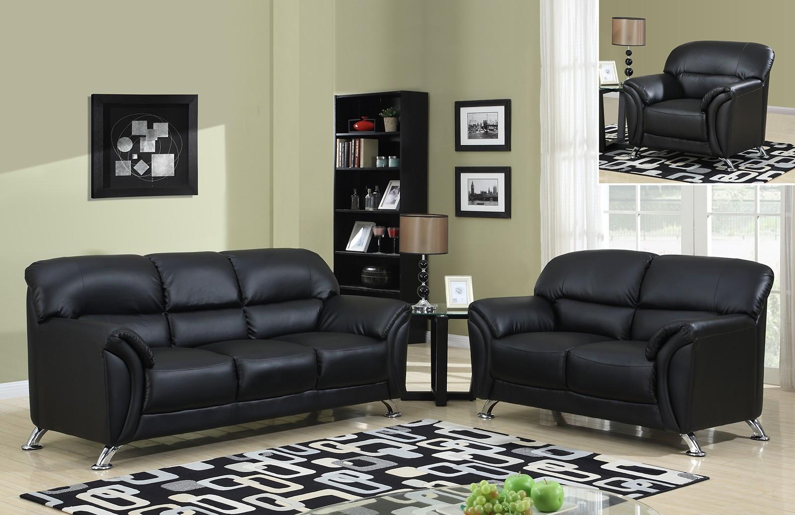 Global Furniture USA Global Furniture U9103 3-Piece Living Room Set ...