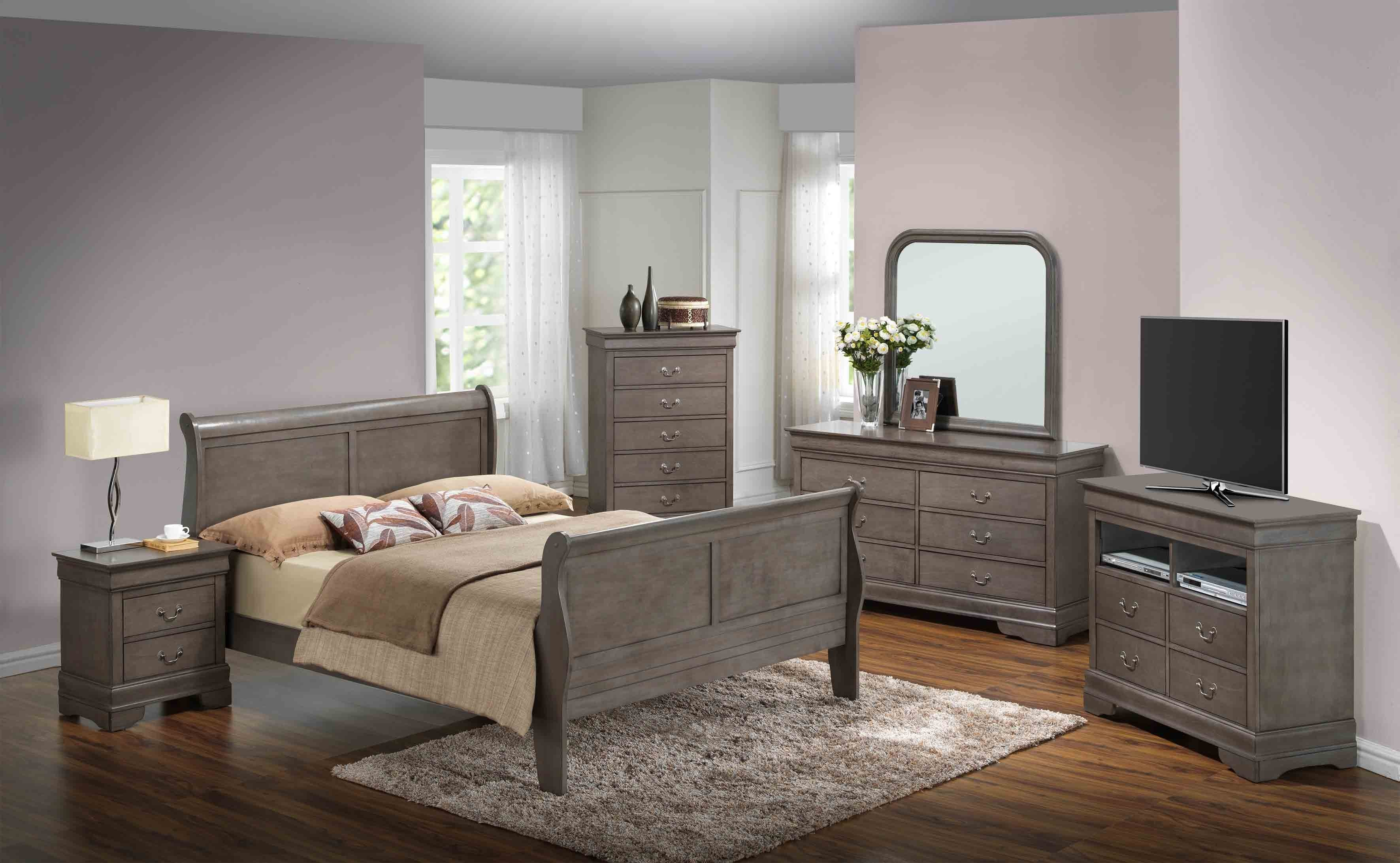 Glory Furniture G3105 Tv Chest In Grey G3105 Tv