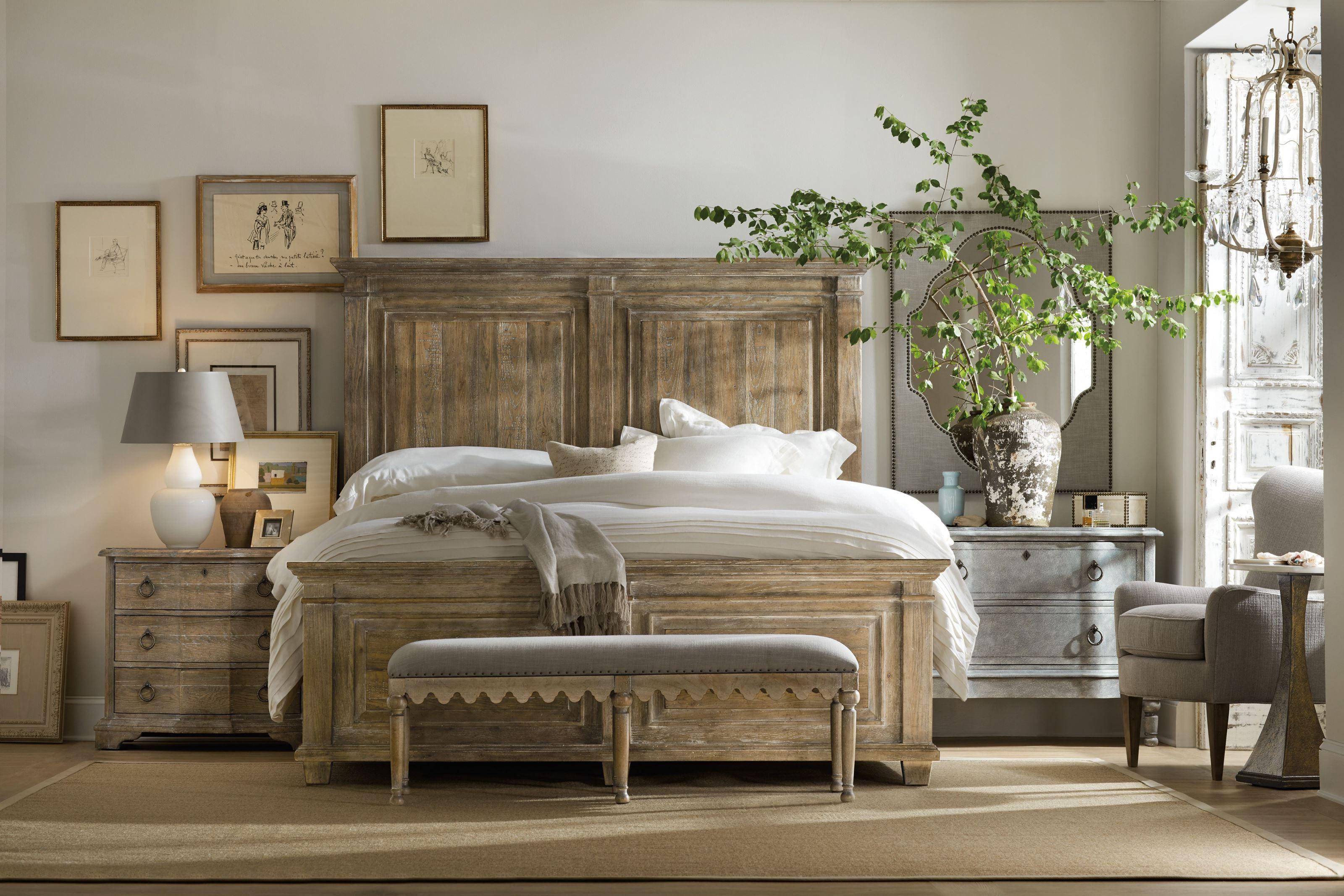 Boheme Light Wood Laurier Panel Bedroom Set 1stopbedrooms