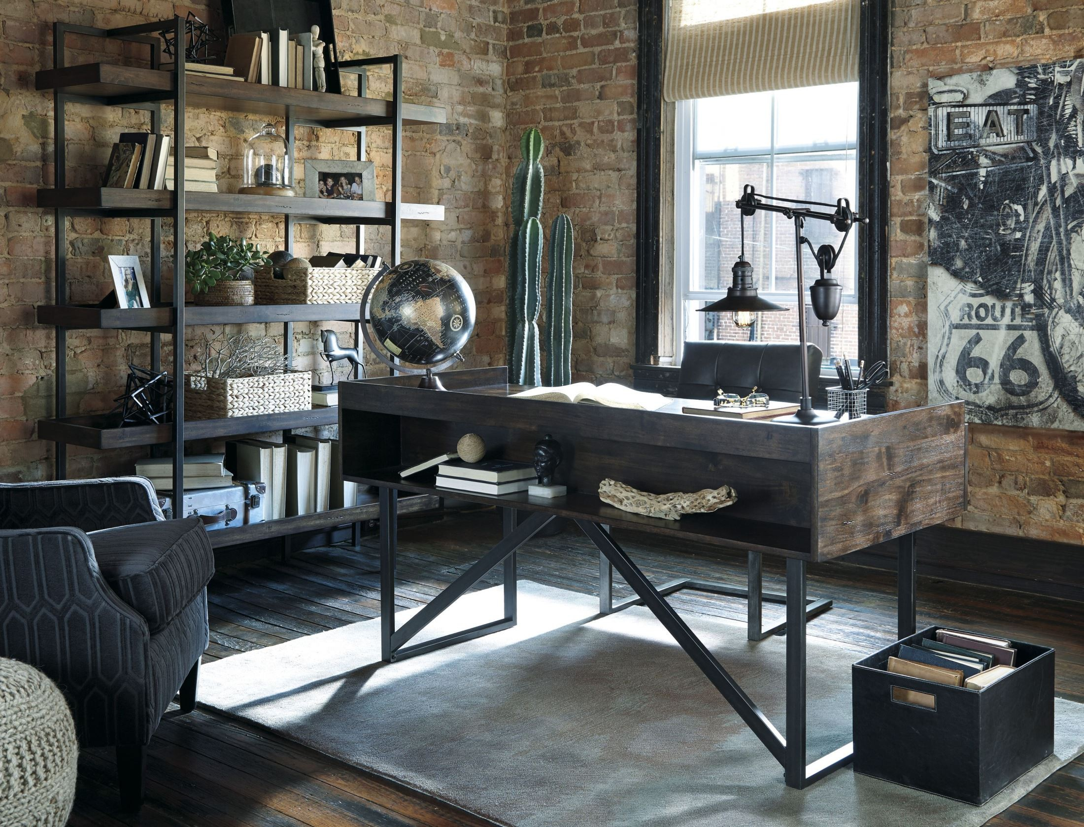 Starmore Brown Home Office Set Media Gallery