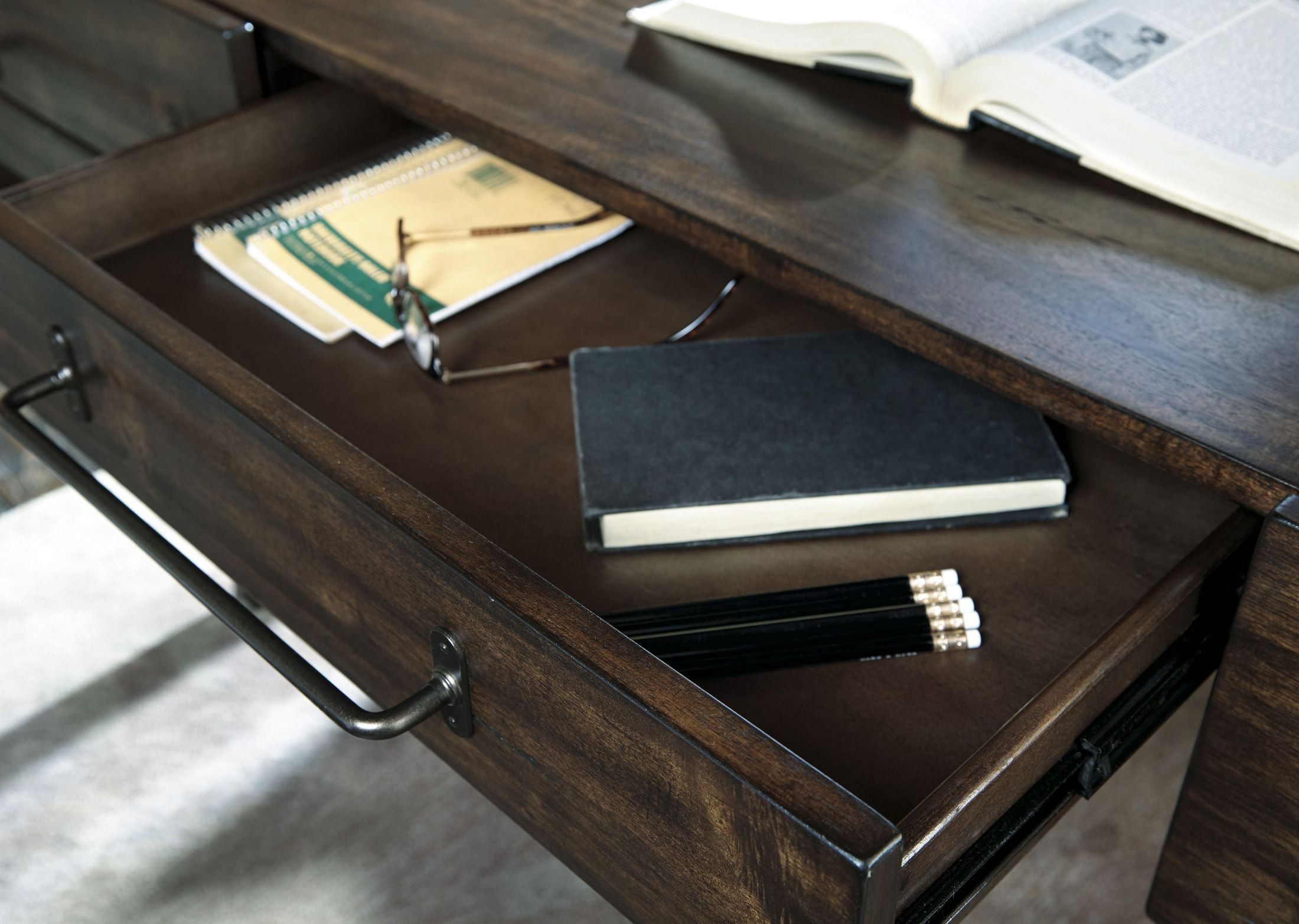 Starmore Brown Home Office Set Media Gallery 7