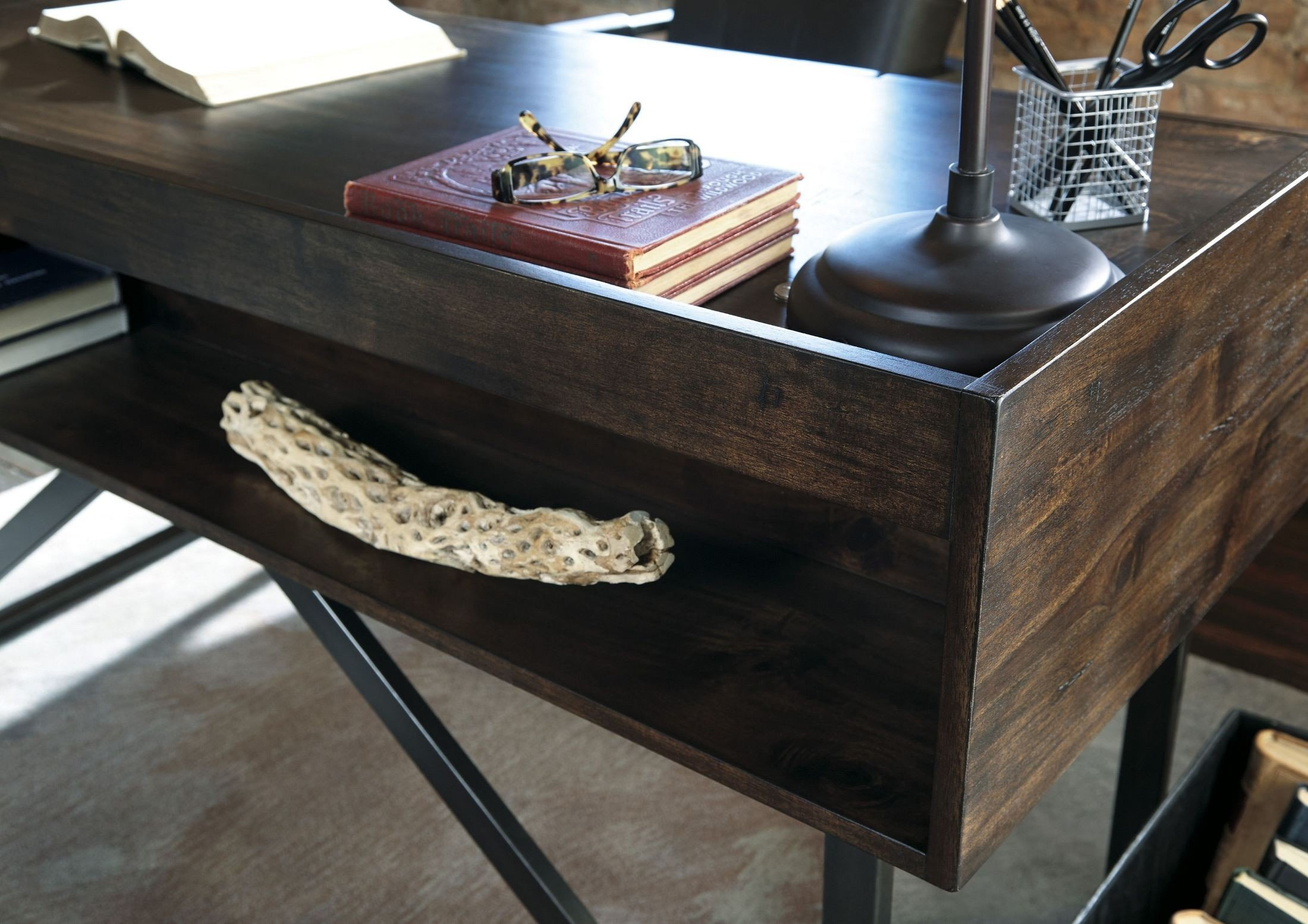 Starmore Brown Home Office Set Media Gallery 5