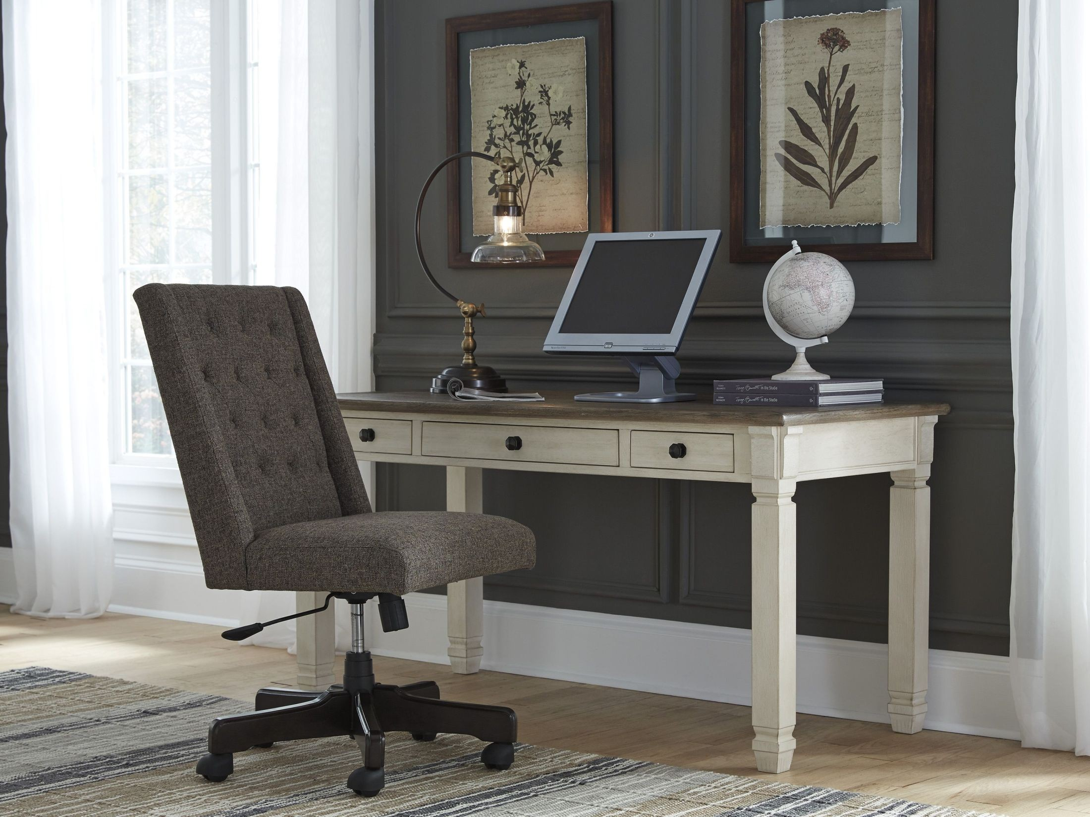 Bolanburg Two-tone Home Office Set Media Gallery 2