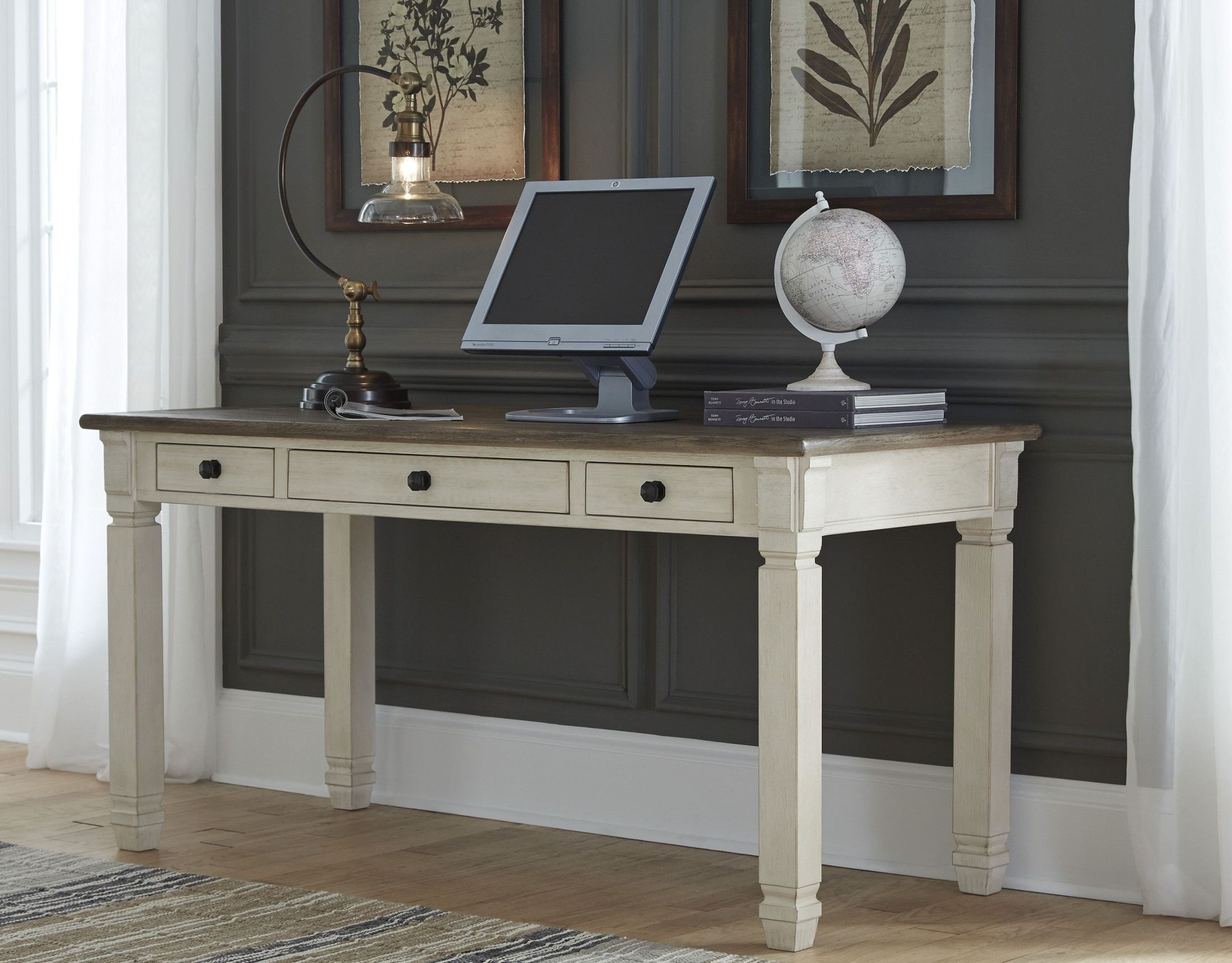 Bolanburg Two-tone Home Office Set Media Gallery 4