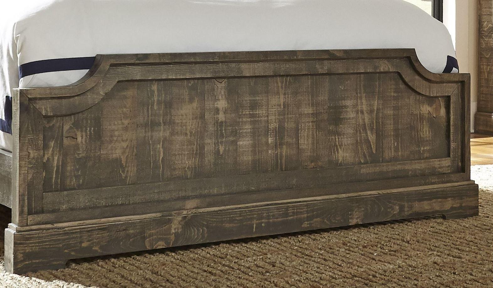 Meadow Weathered Gray Panel Bedroom Set Media Gallery 4