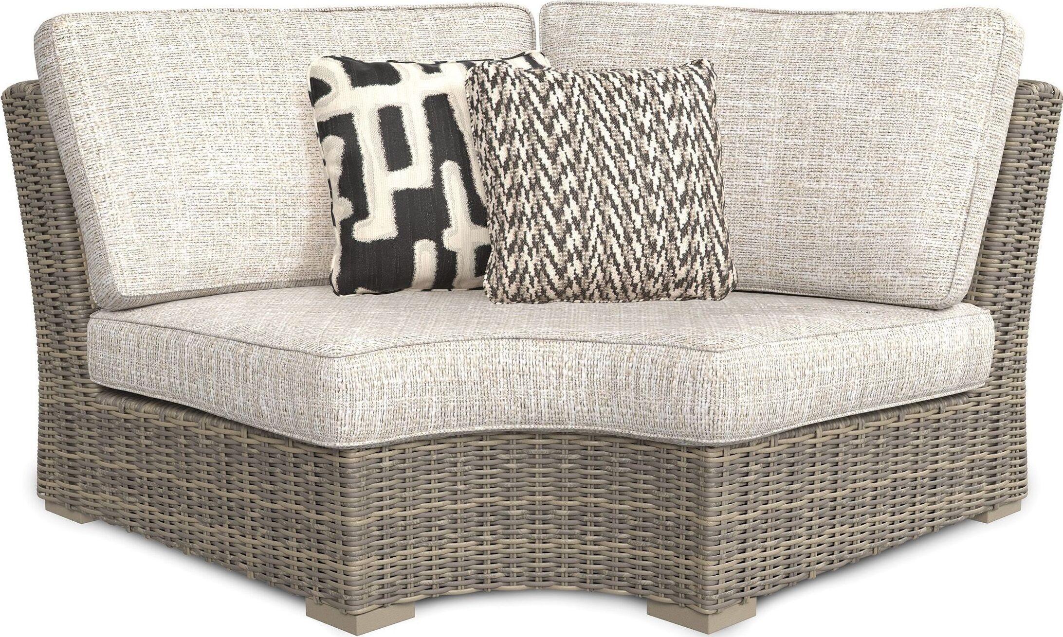 Beachcroft Beige Outdoor Sectional - 1StopBedrooms. on Beachcroft Beige Outdoor Living Room Set id=45230
