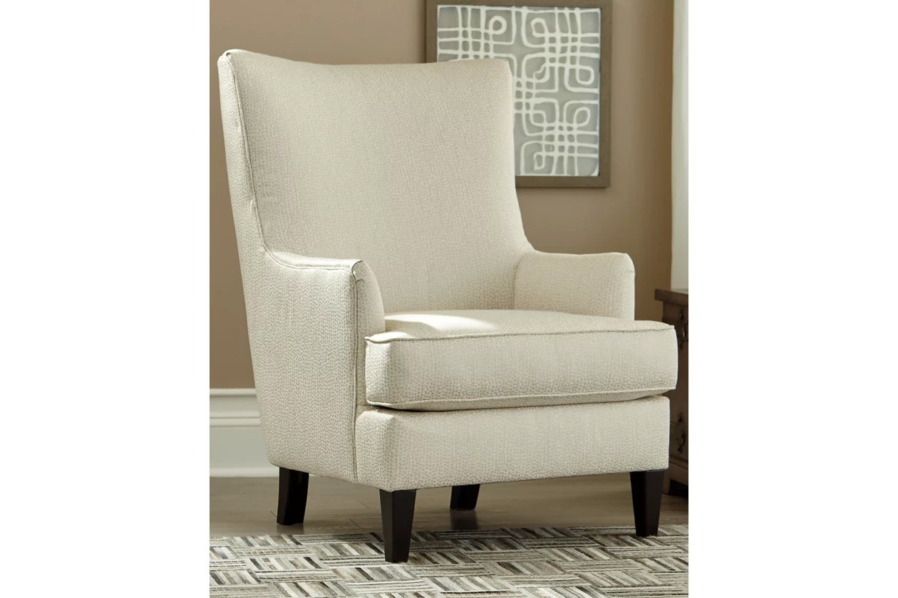 Paseo Ivory Accent Chair 1stopbedrooms