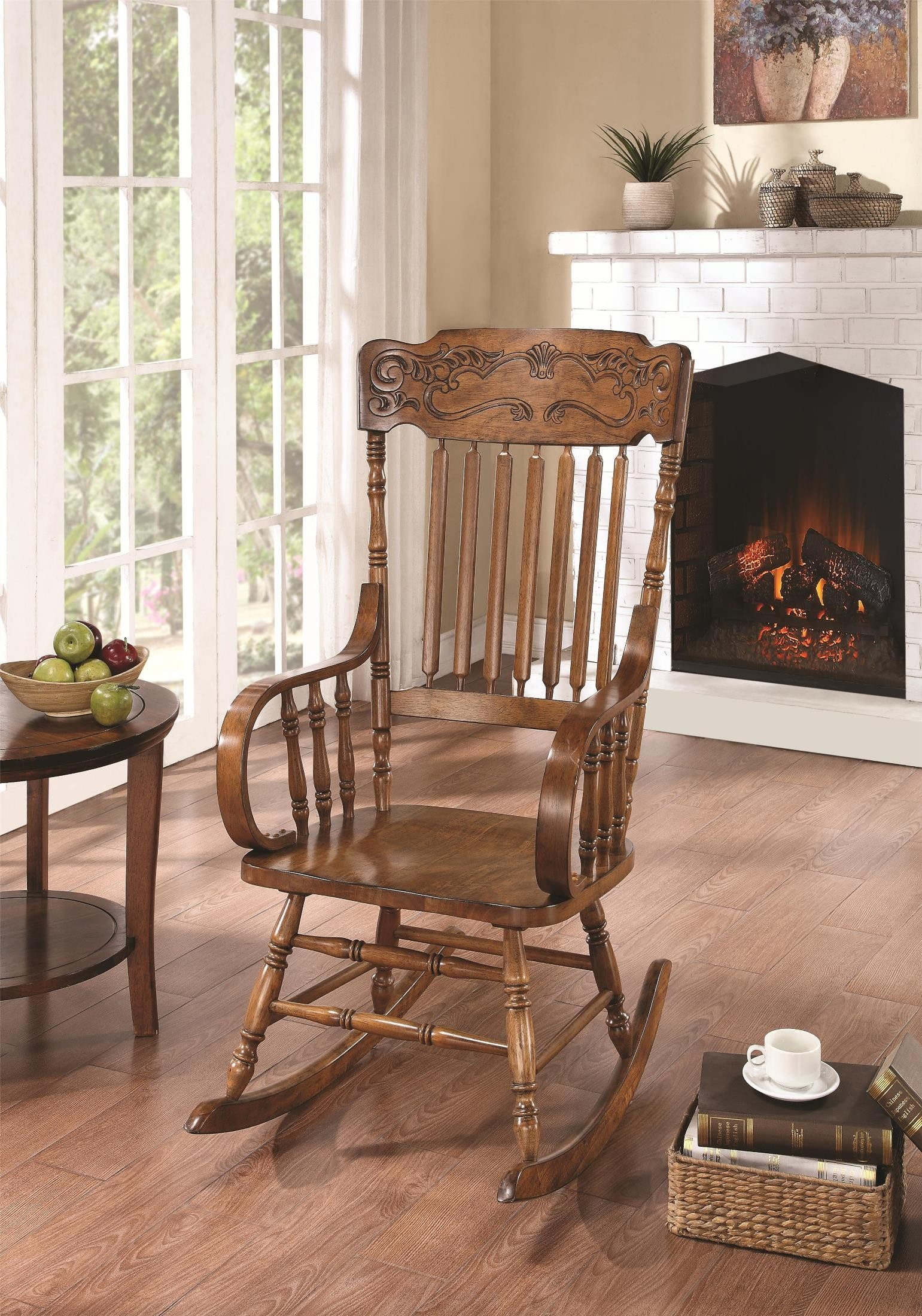 600175 Wooden Rocking Chair - 1StopBedrooms.
