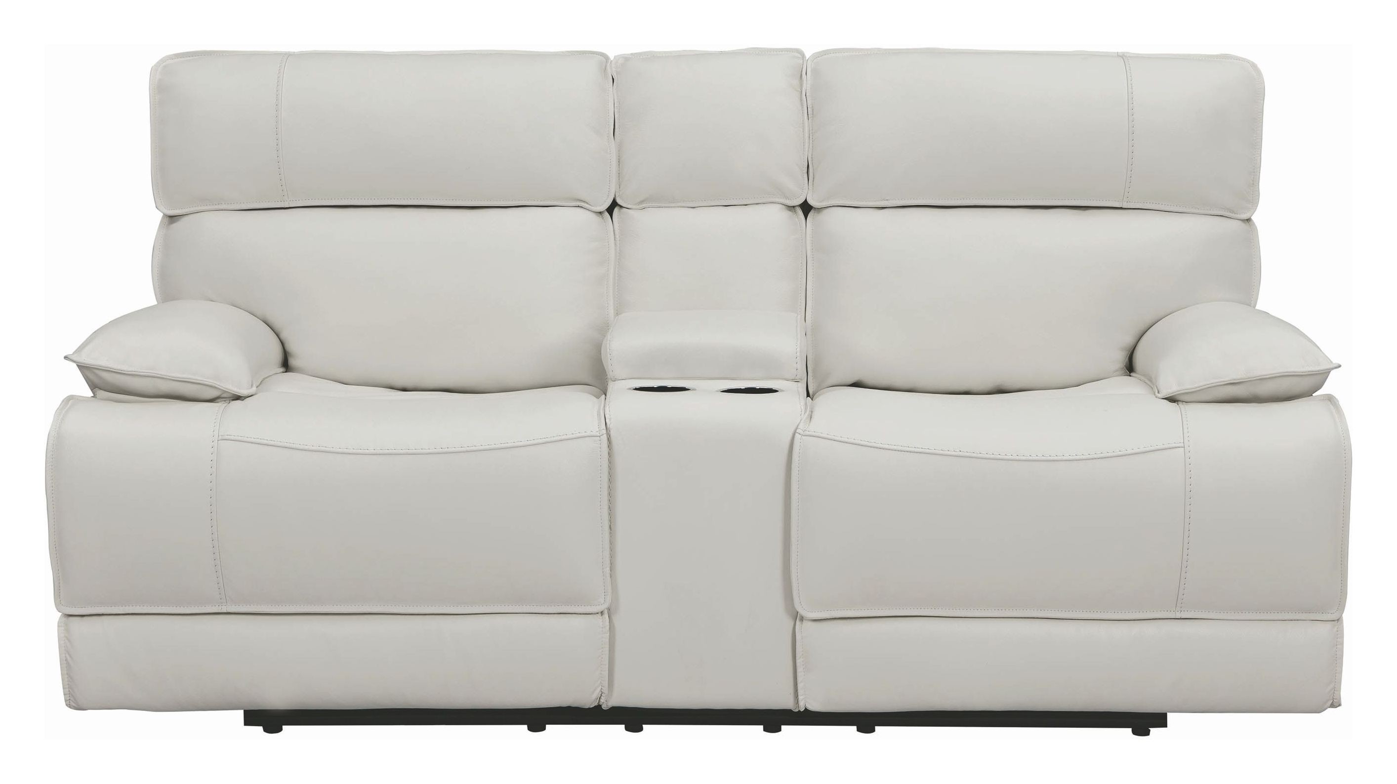 Stanford White Power Reclining Loveseat 1stopbedrooms