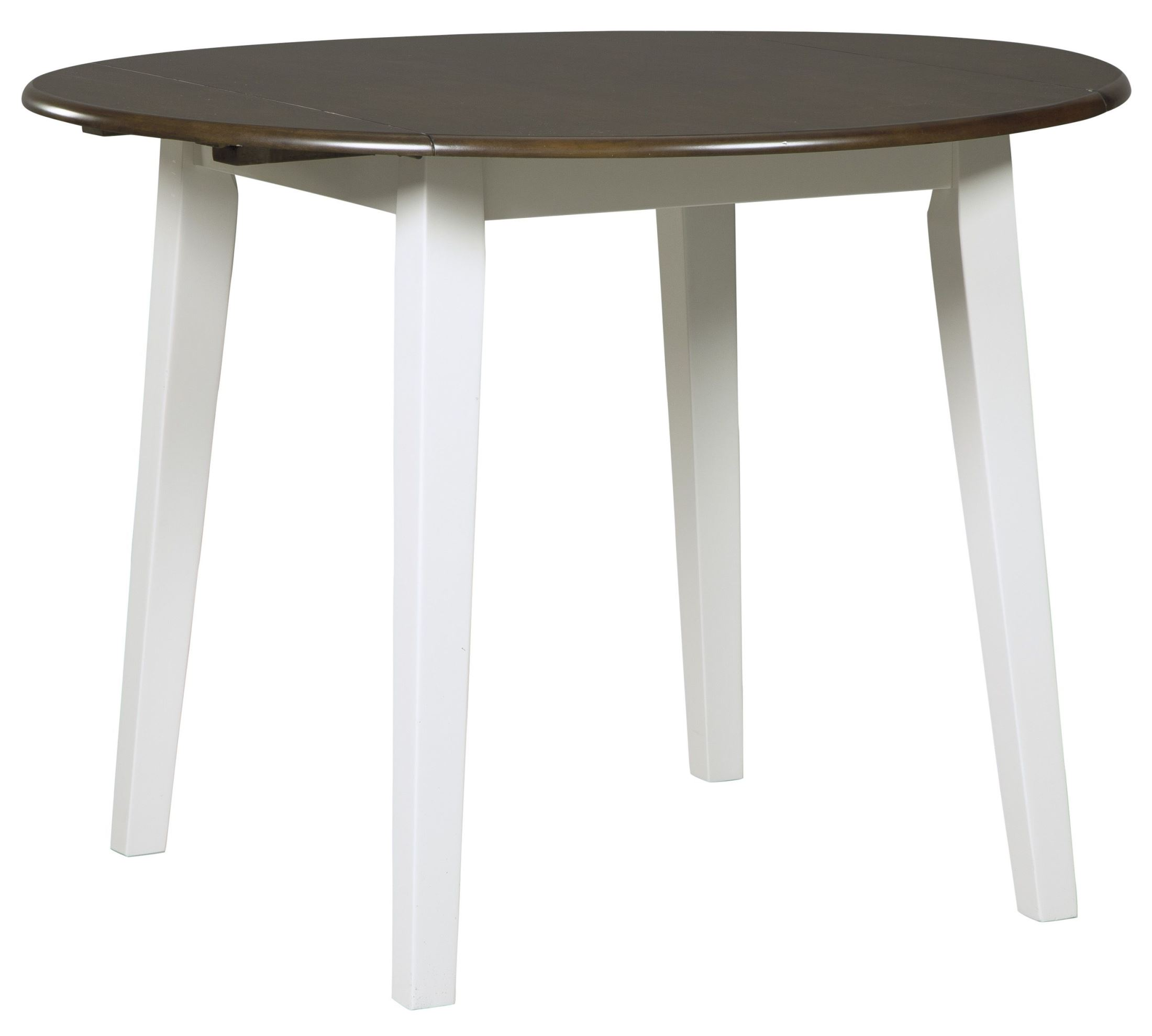 White And Brown Dining Table: Signature Design By Ashley Woodanville White And Brown