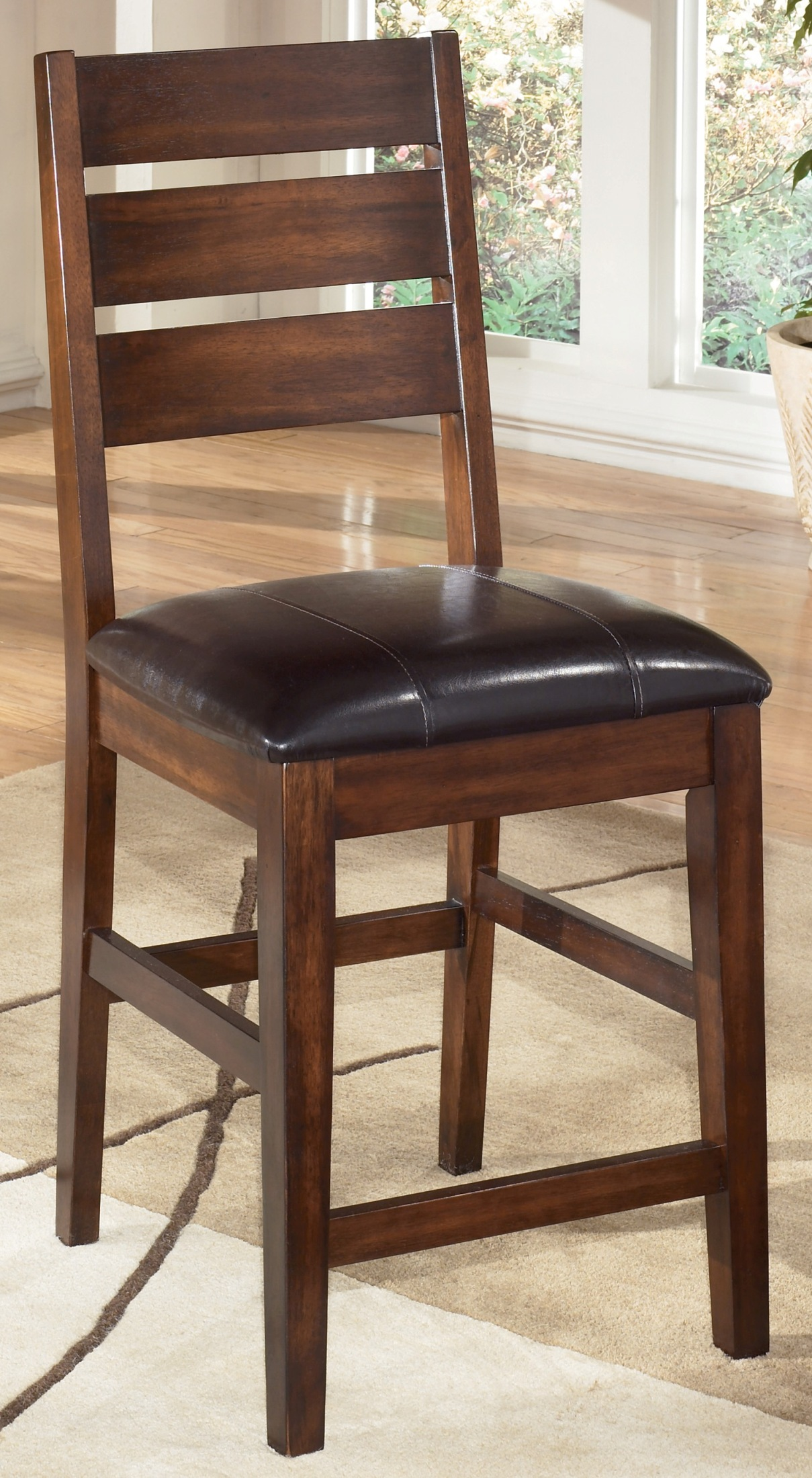 Signature Design By Ashley Larchmont 24 Counter Stool Set Of 2