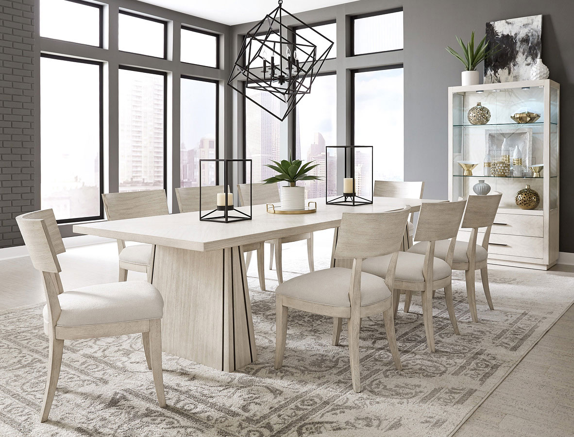 District 3 Large Rectangular Dining Room Set 1stopbedrooms