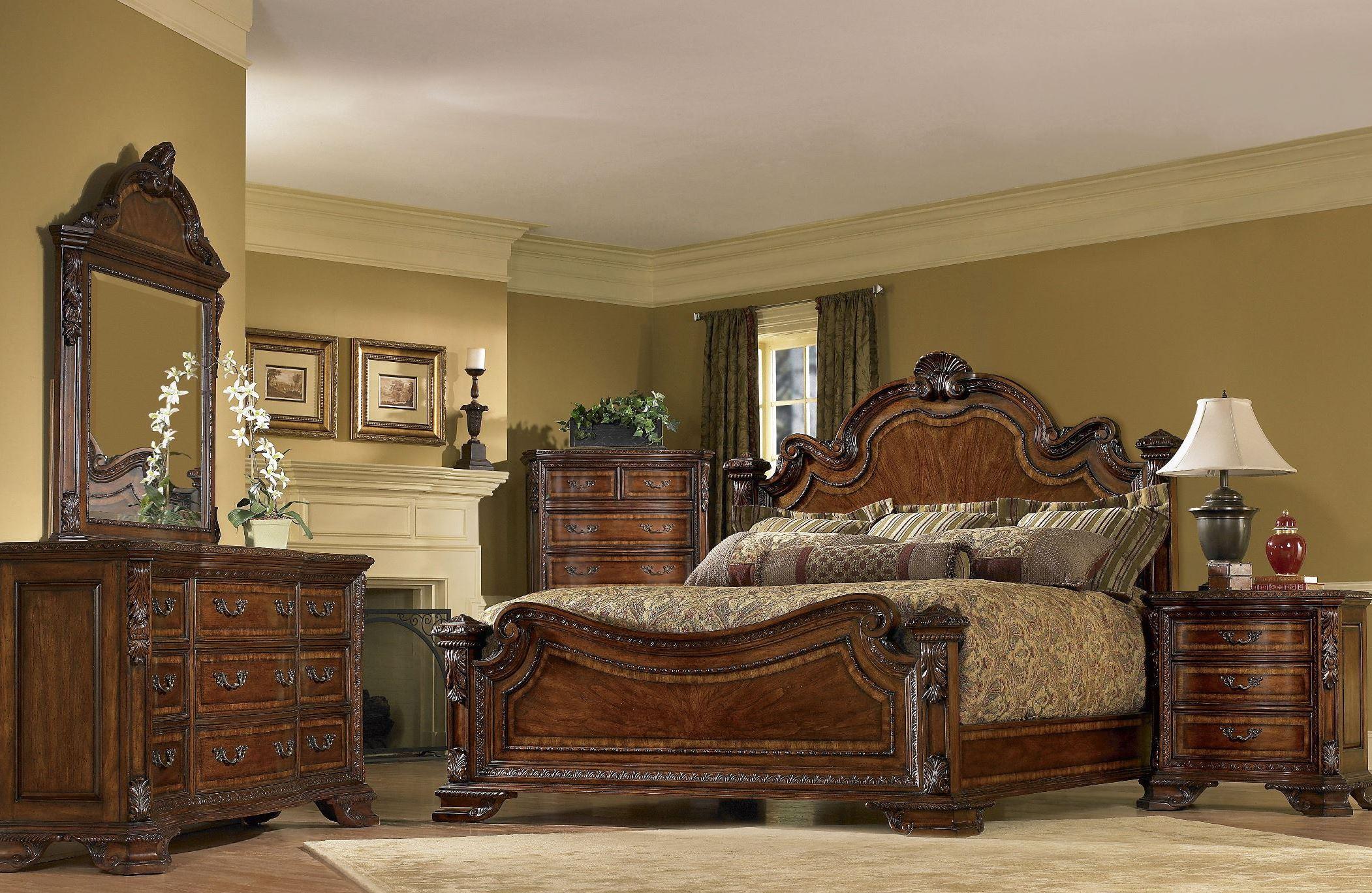 Old World Estate Bedroom SetMedia Image