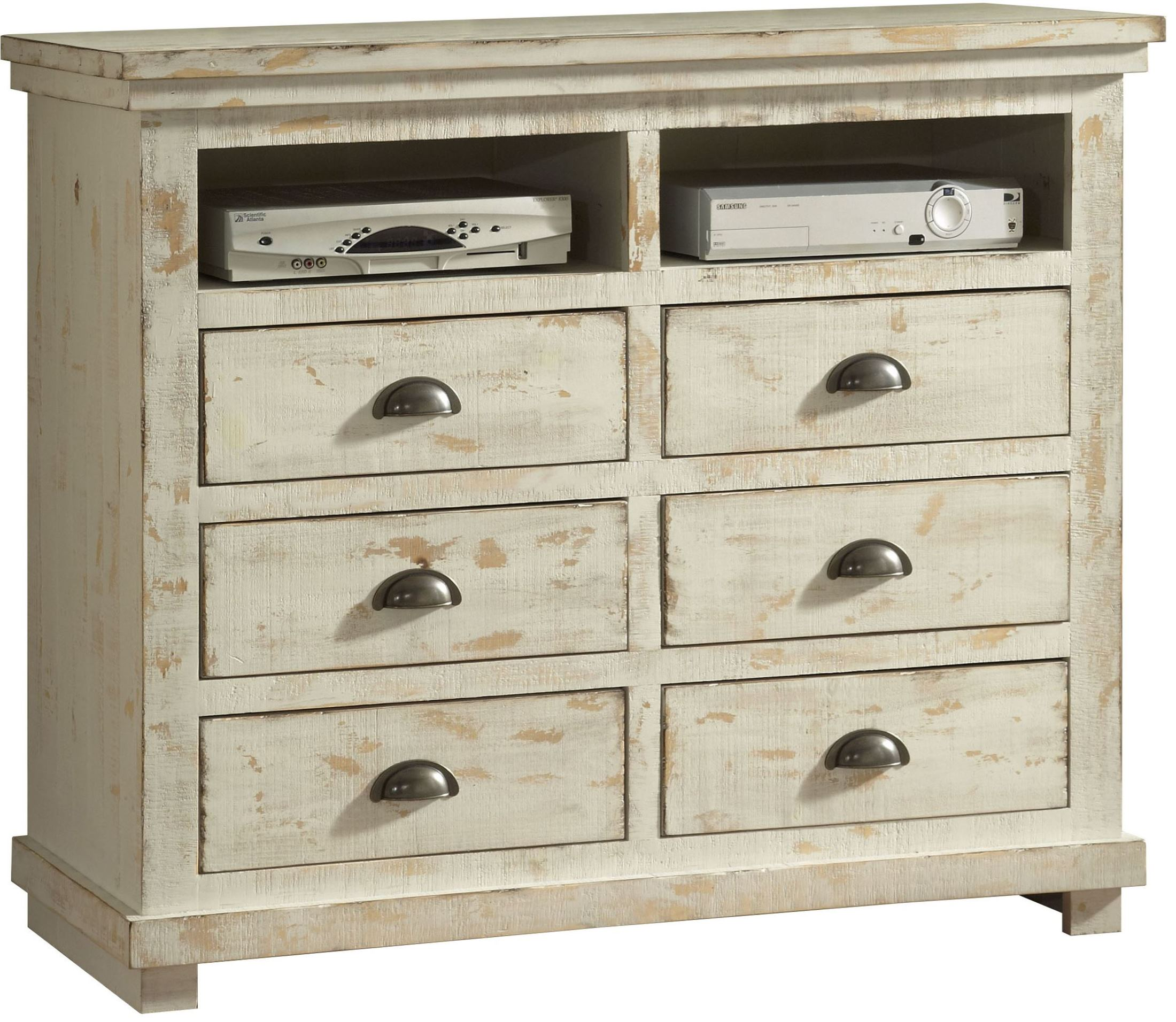 Progressive furniture willow distressed white media chest willow collection 14 reviews for White media chest for bedroom