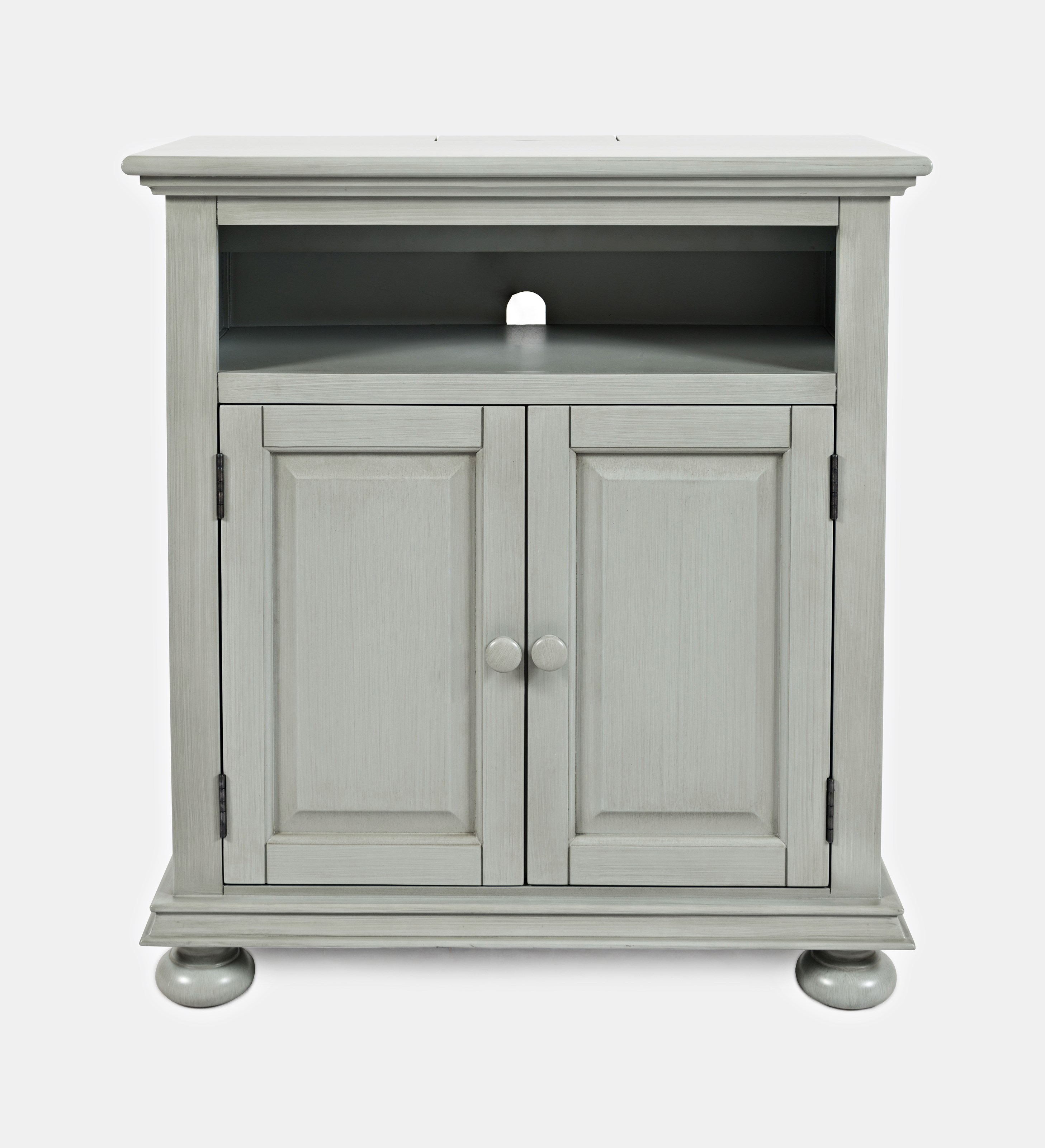 Jofran Stately Manor Power Accent Chest Earl Grey