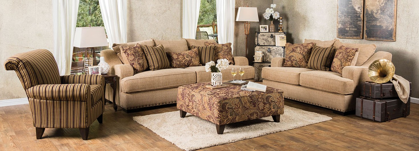 Arklow Tan Living Room Set